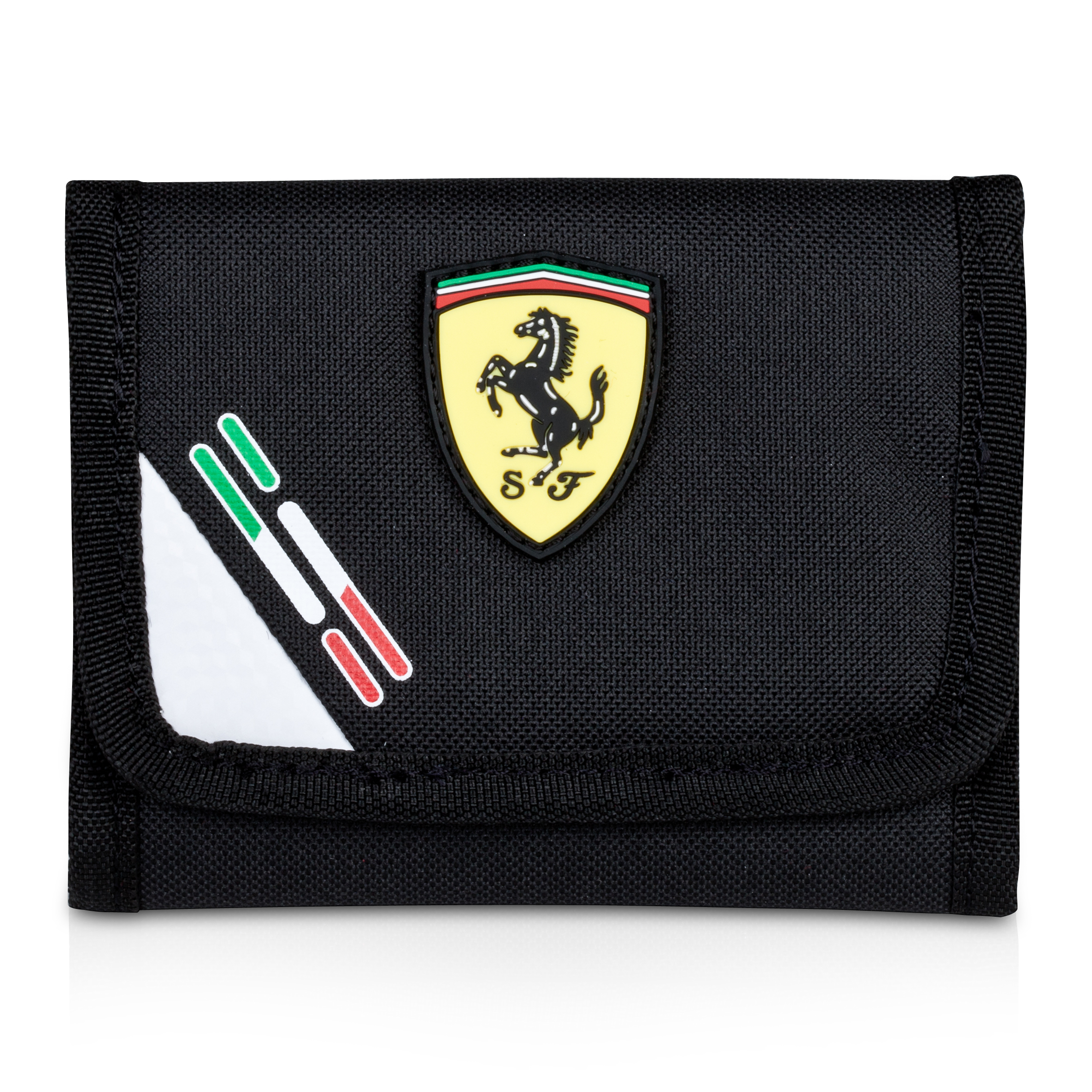 Scuderia Ferrari Replica Wallet - Black/White