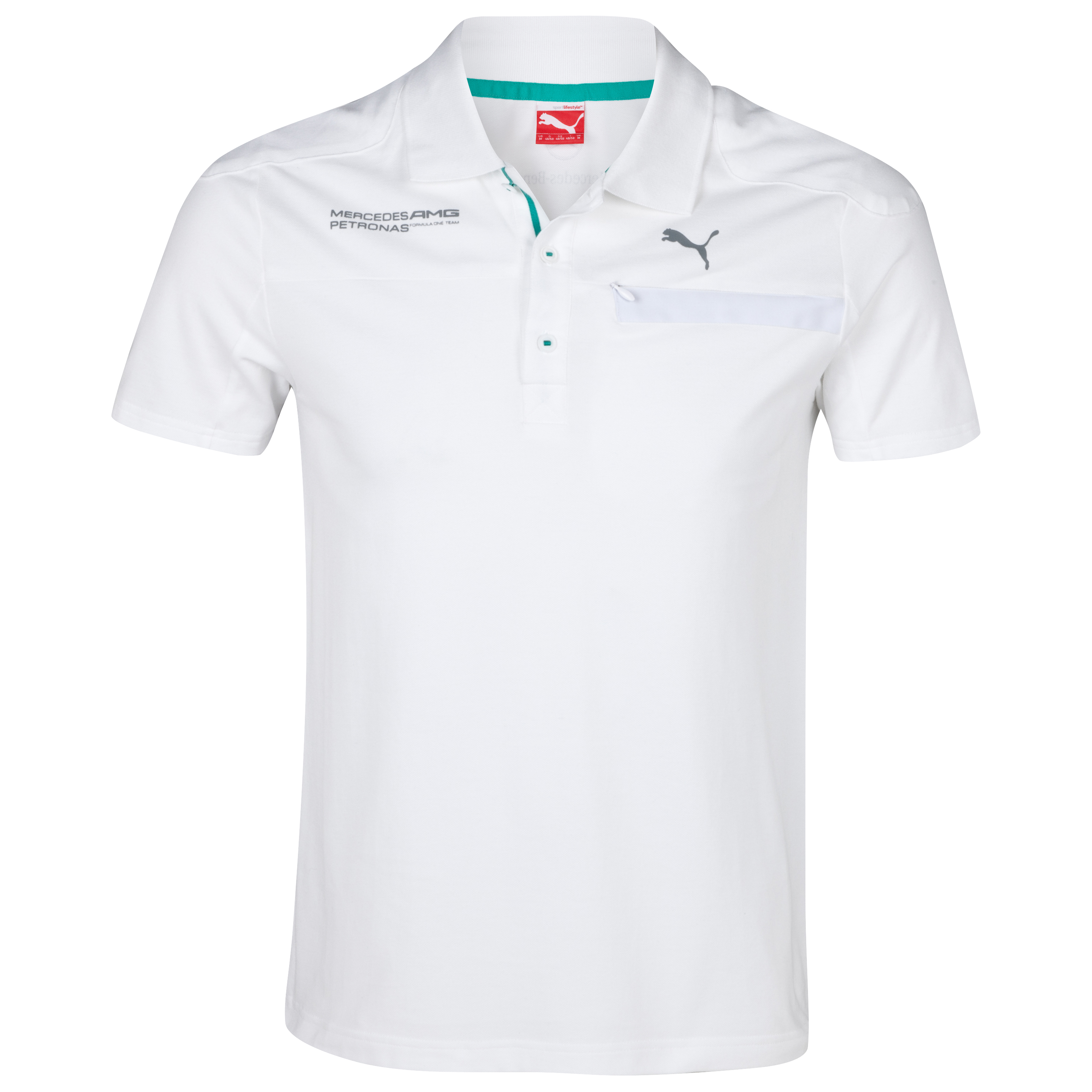 Mercedes AMG Petronas 2013 Polo - White