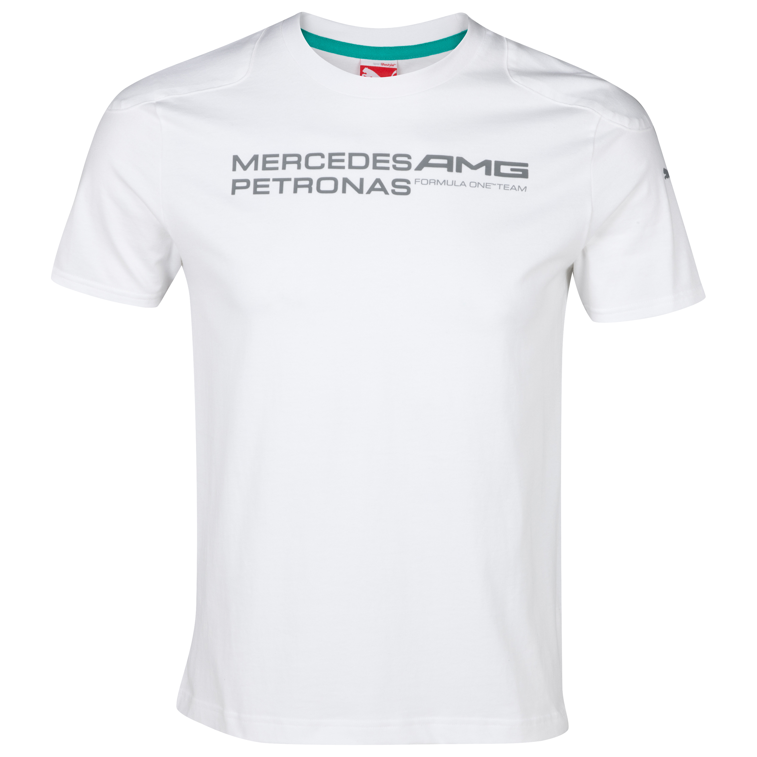 Mercedes AMG Petronas 2013 Team Logo T-Shirt - White