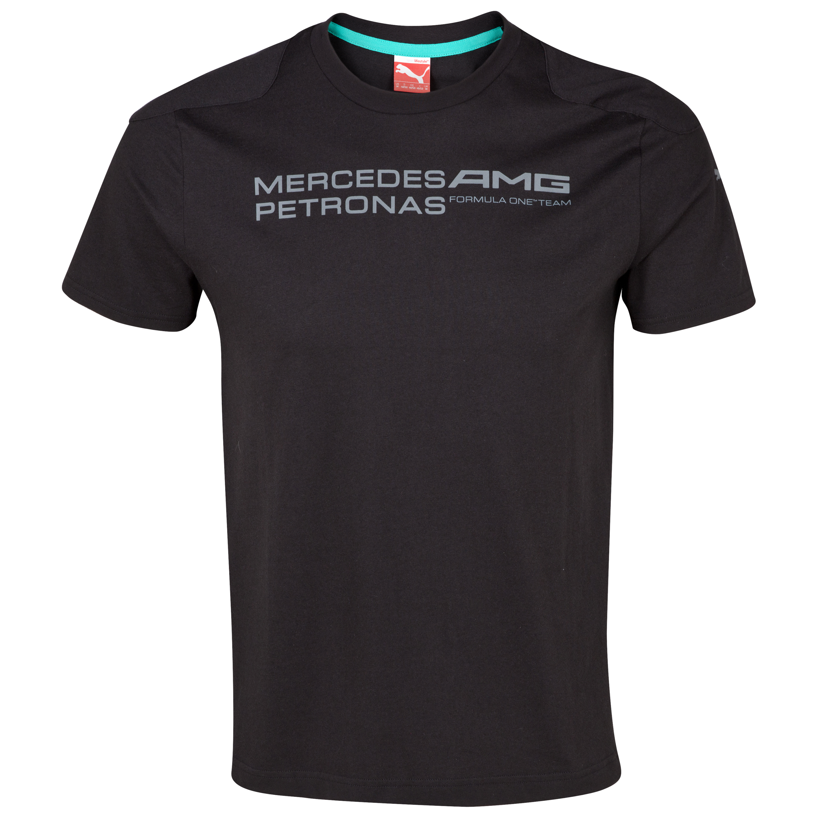 Mercedes AMG Petronas 2013 Team Logo T-Shirt - Black