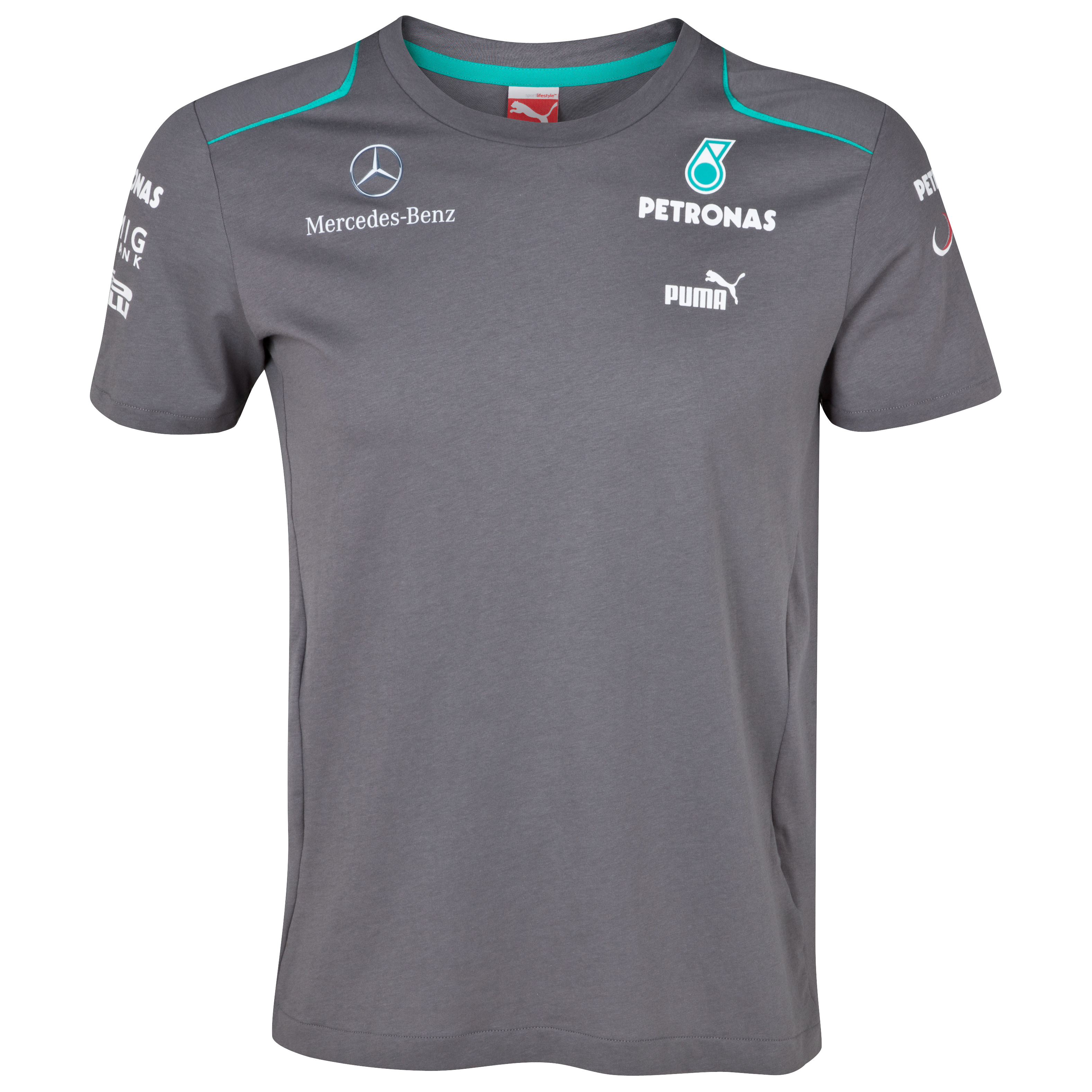Mercedes AMG Petronas 2013 T-Shirt Grey