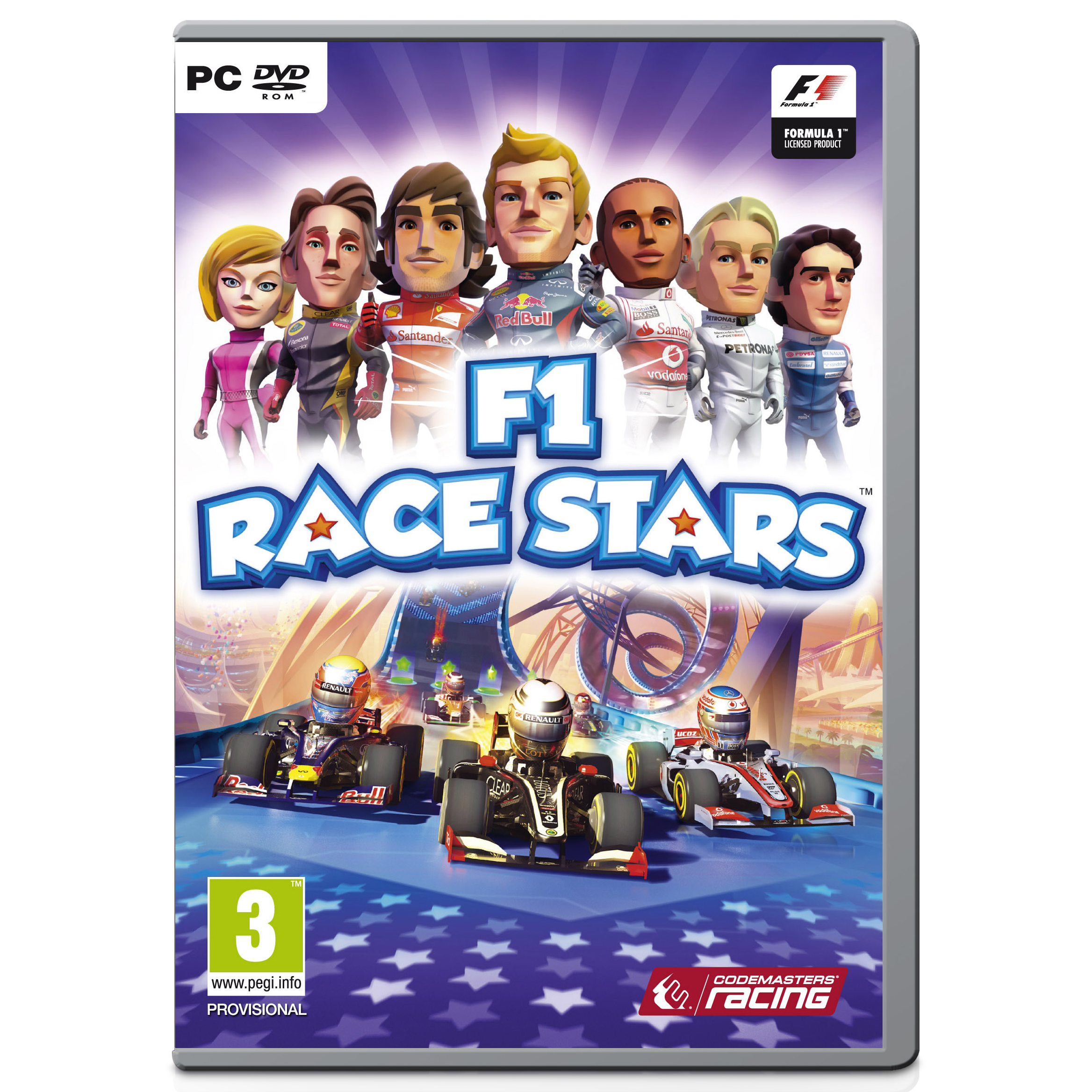 Formula One Race Stars Video Game - PC - PAL