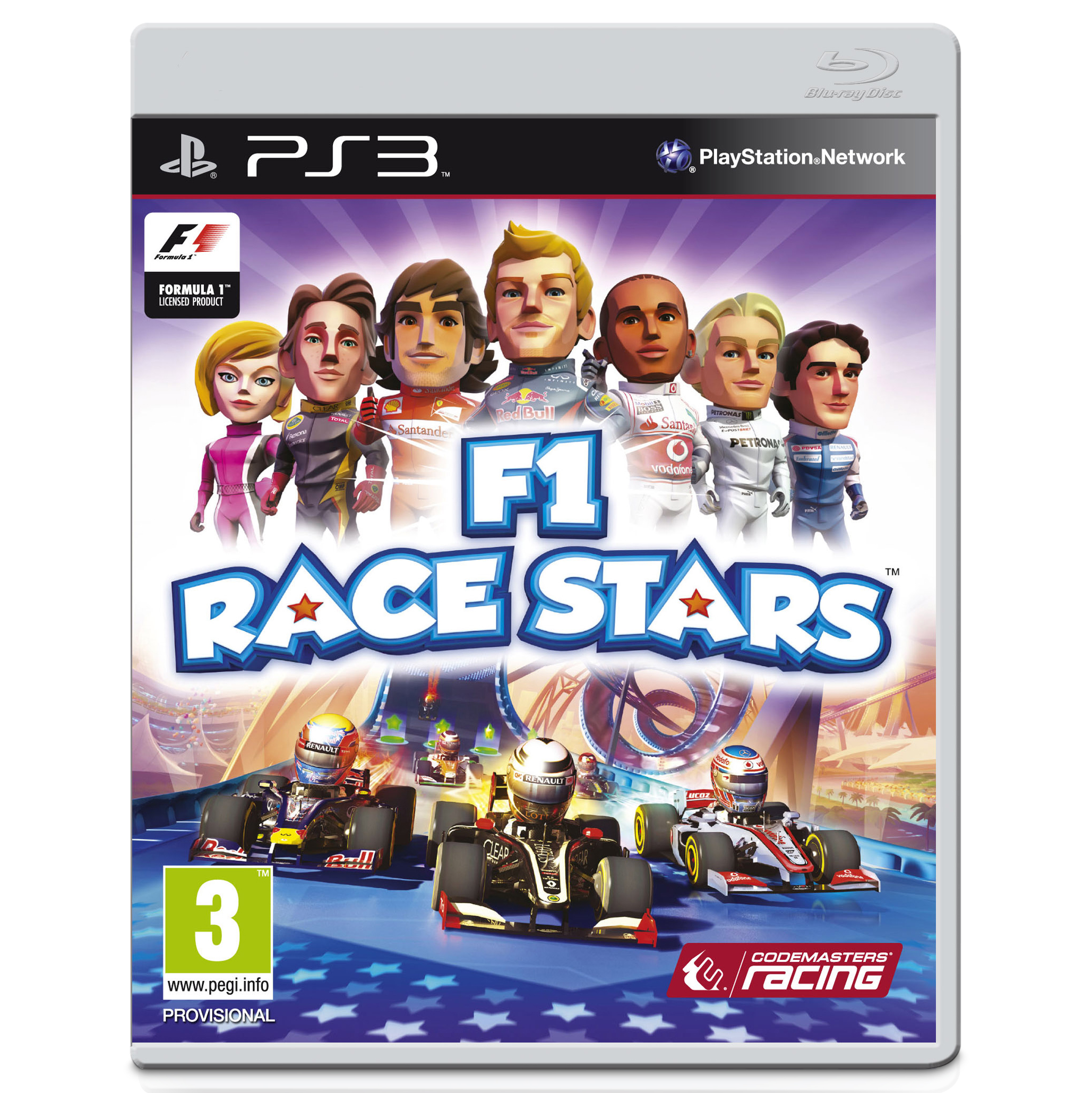 Formula One Race Stars Video Game - PS3 - PAL