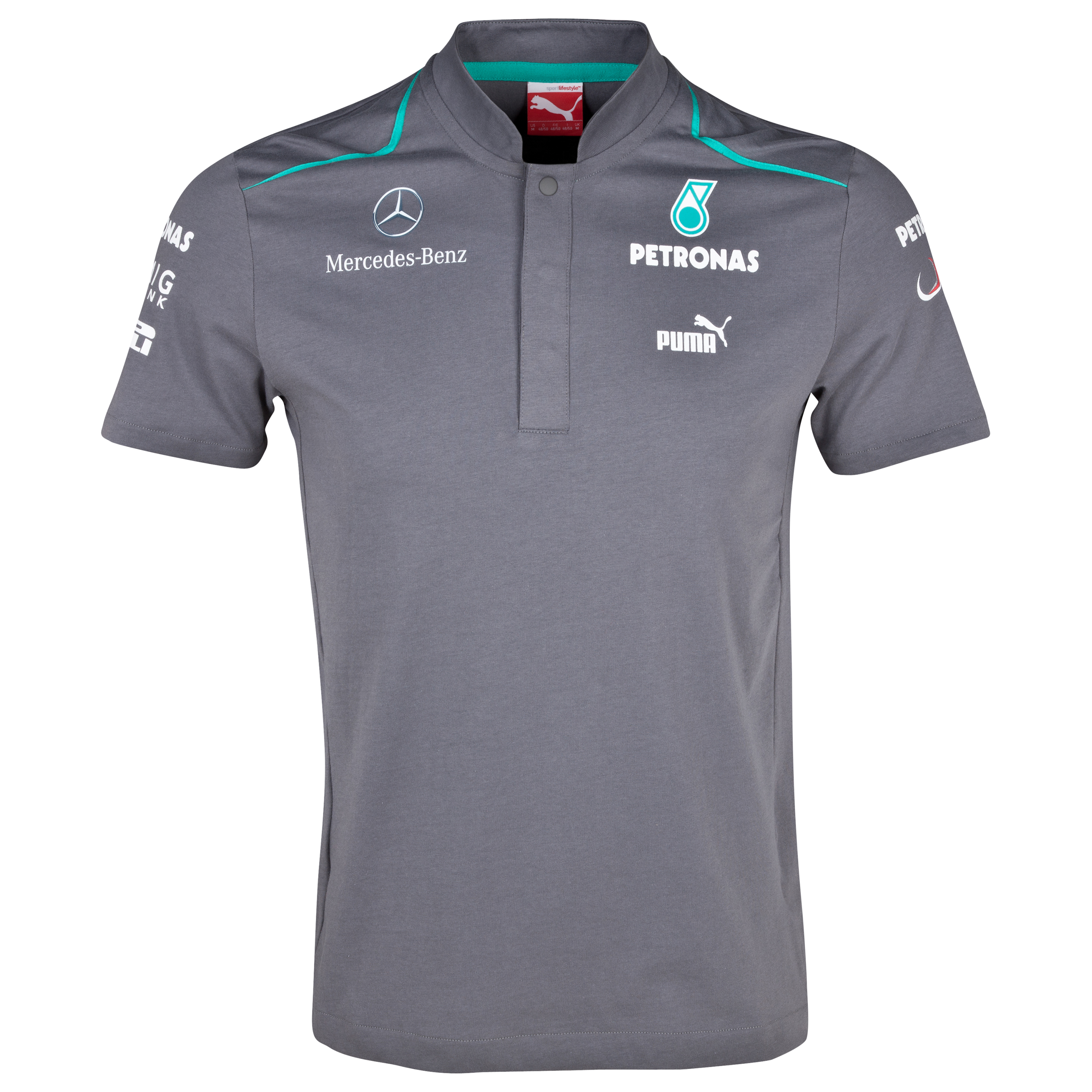Mercedes AMG Petronas 2013 Team Polo Grey
