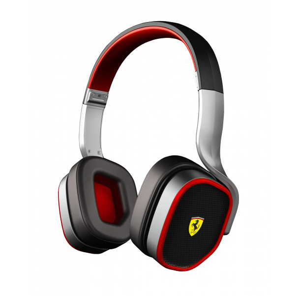 Scuderia Ferrari Scuderia R200 On-Ear Headphones - Silver