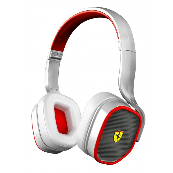 Scuderia Ferrari R200 On-Ear Headphones - White