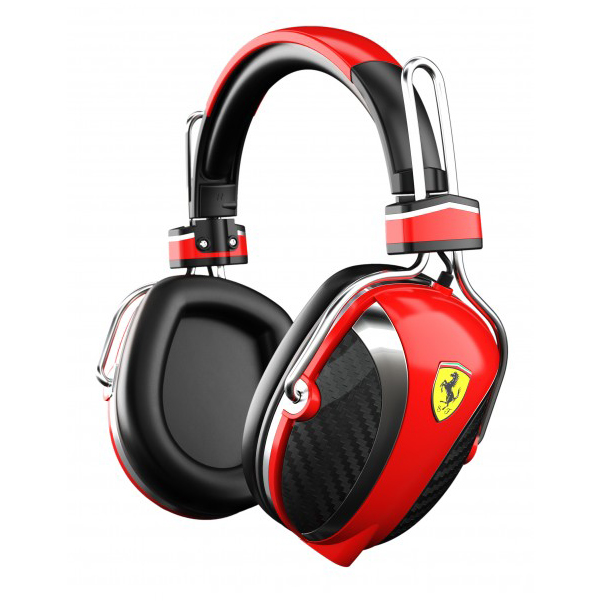 Scuderia Ferrari P200 On-Ear Headphones - Red