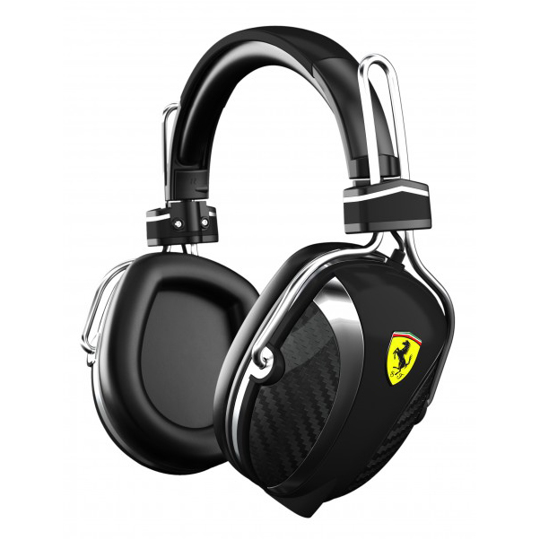 Scuderia Ferrari Scuderia P200 On-Ear Headphones - Black
