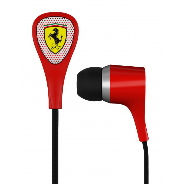 Scuderia Ferrari S100i Earphones - Red