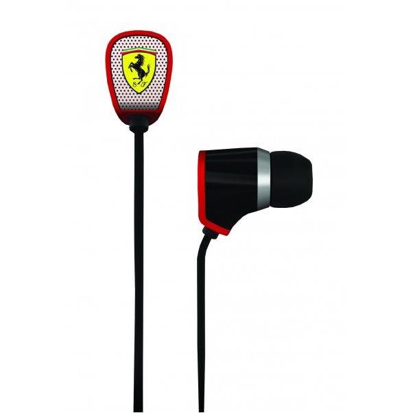 Scuderia Ferrari Scuderia R100i Earphones - Black