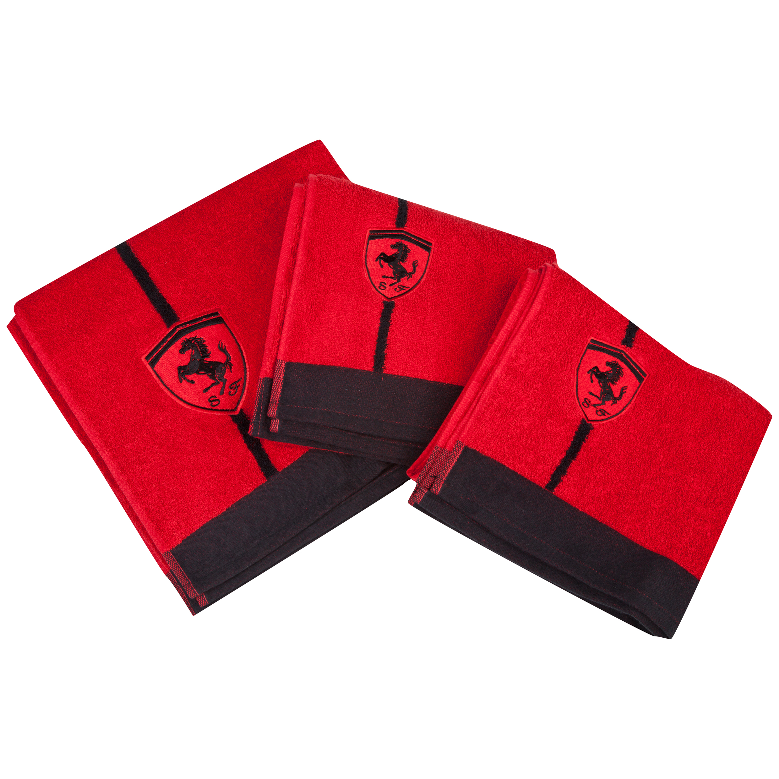 Scuderia Ferrari Exclusive Collection Terry Towel Set