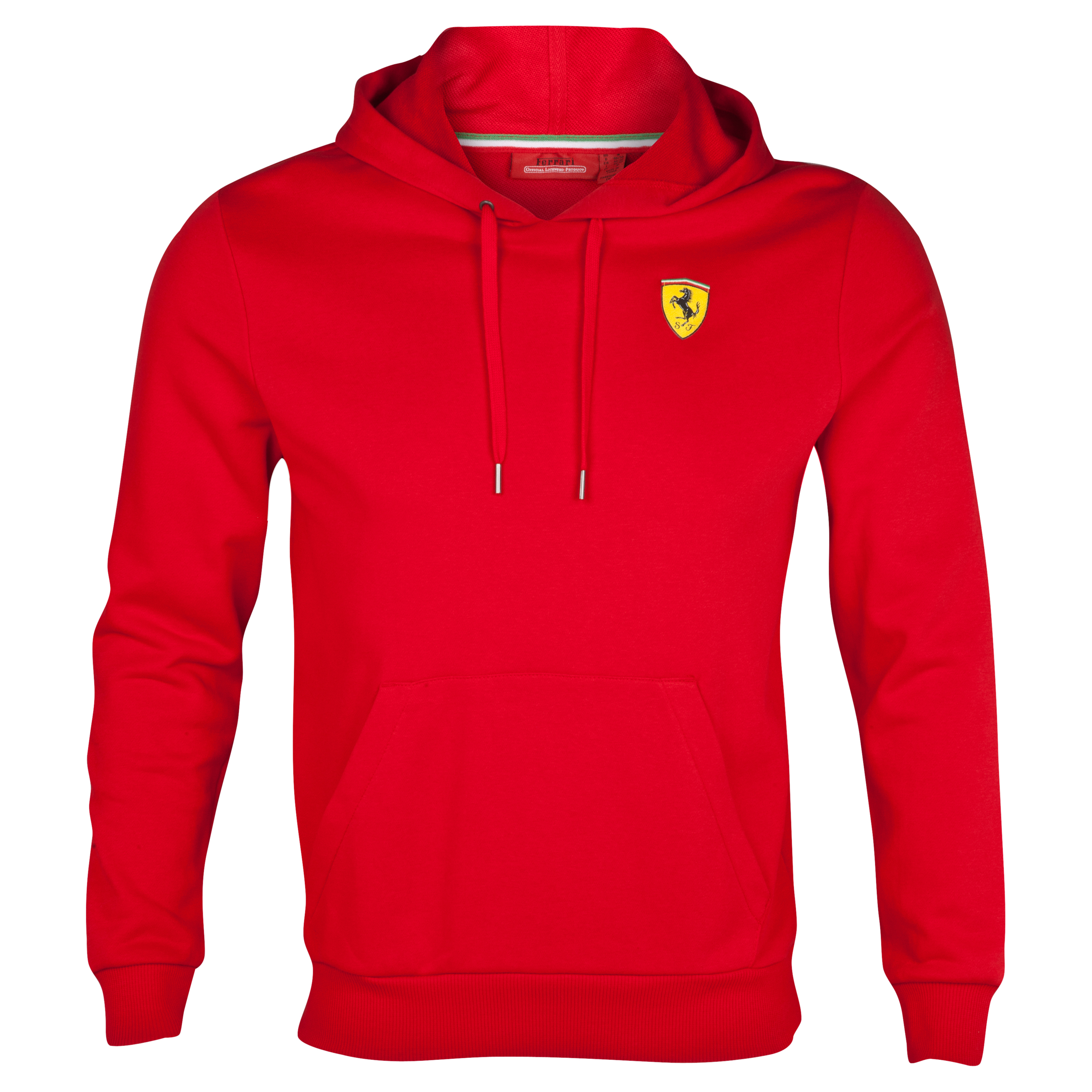 Scuderia Ferrari Hooded Sweatshirt - Red