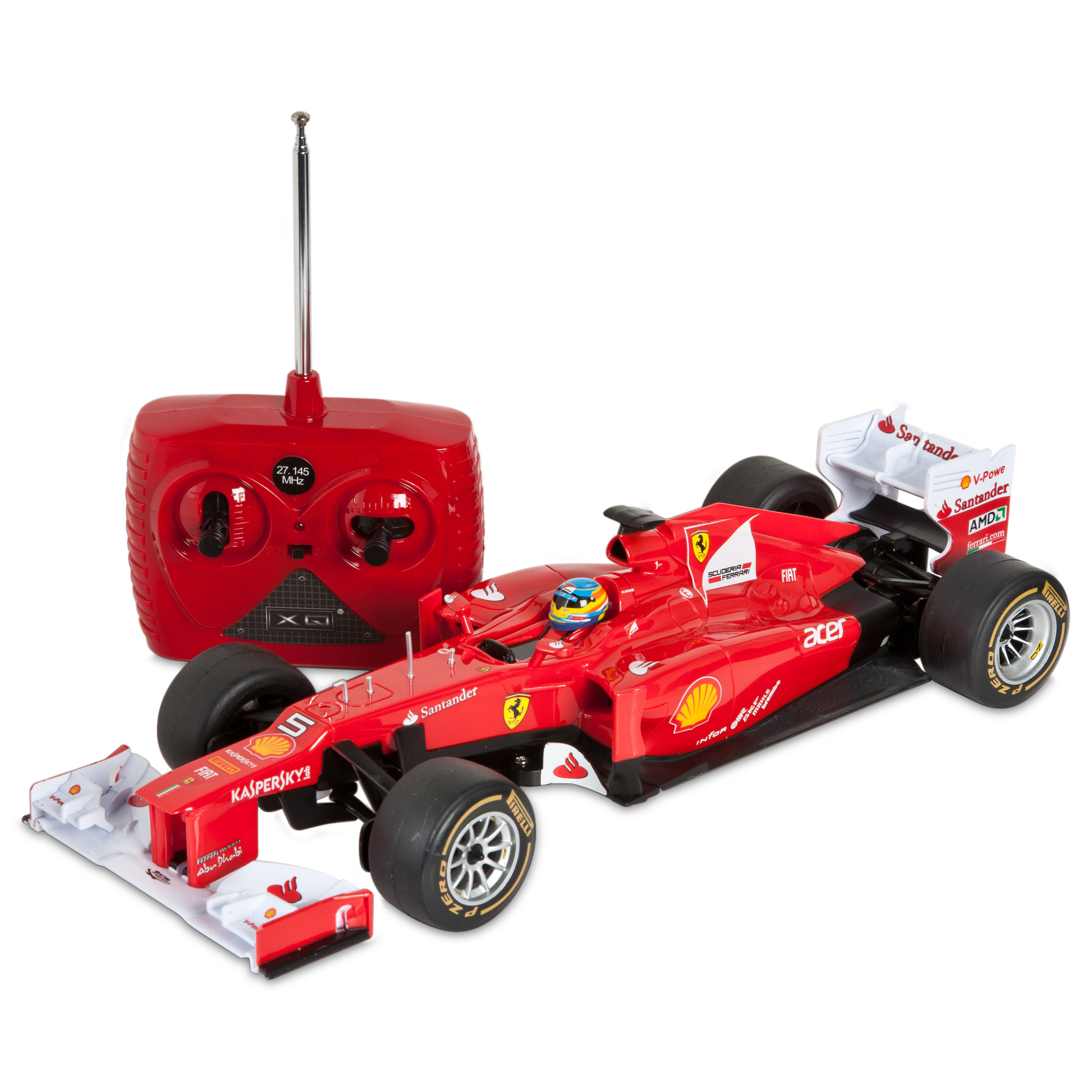 Scuderia Ferrari F2012 F1 1:18 Scale Remote Control Car RC