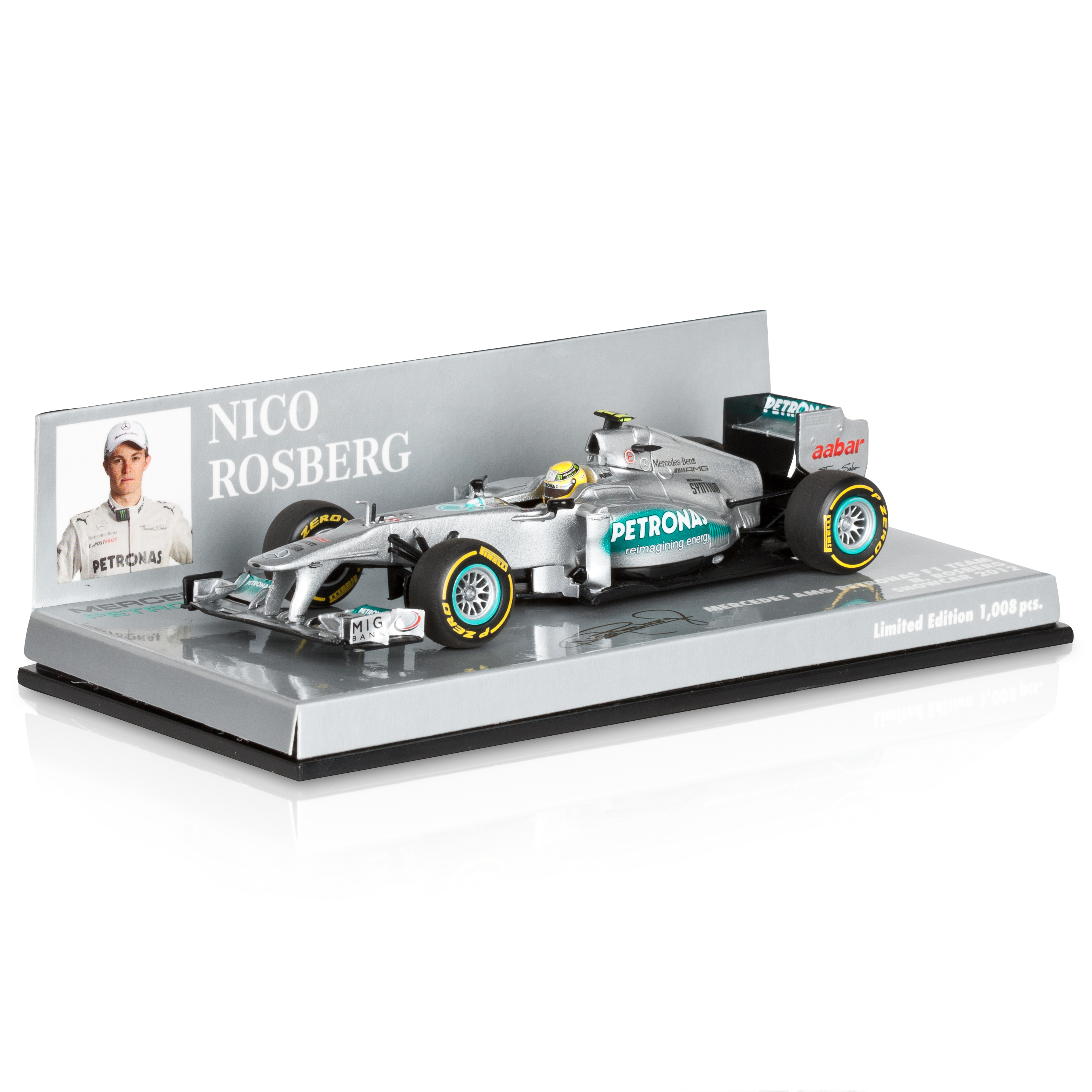 Mercedes AMG F1 Team Nico Rosberg - 2012 1:43 Scale
