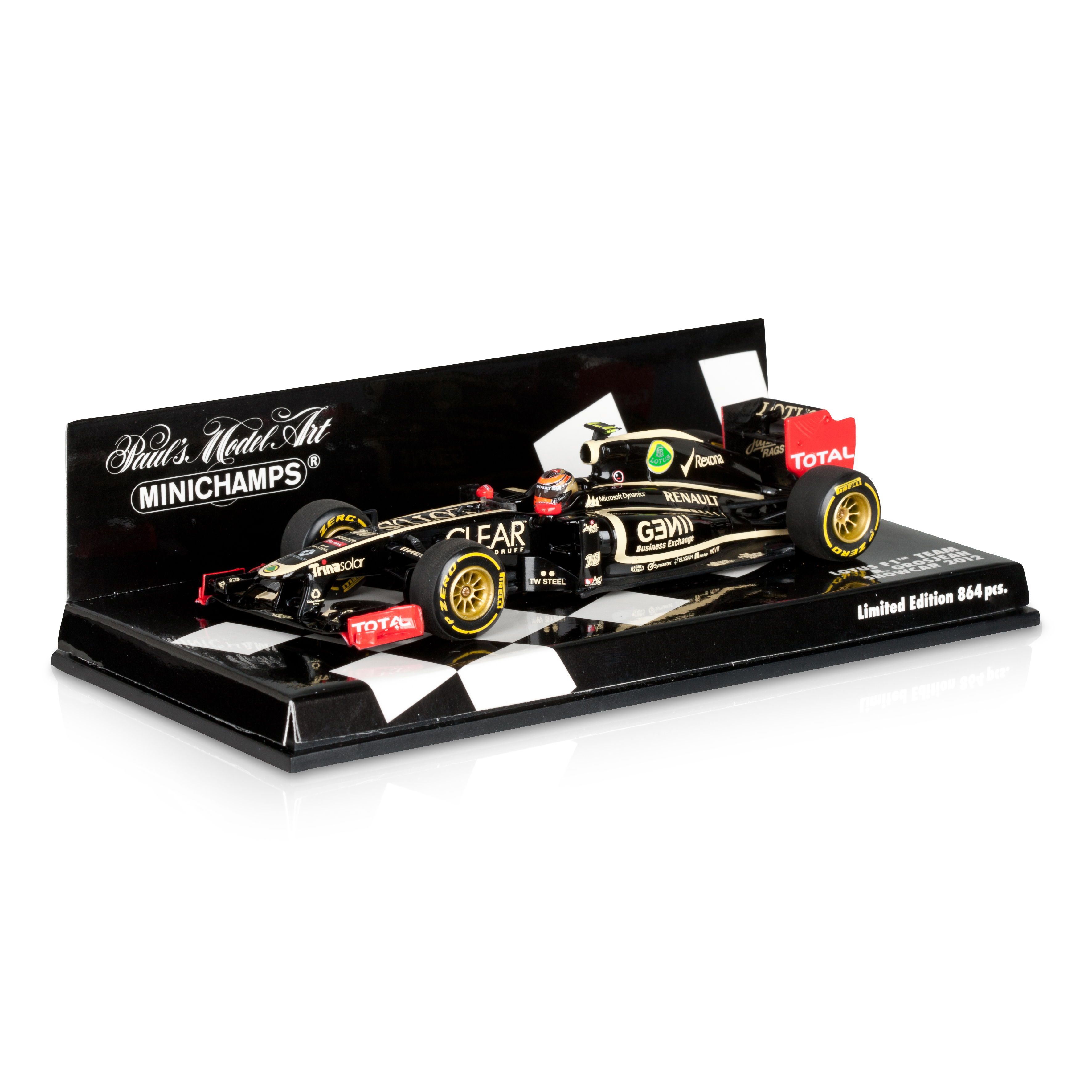 Lotus Renault F1 Team Romain Grosjean - 2012 1:43 Scale