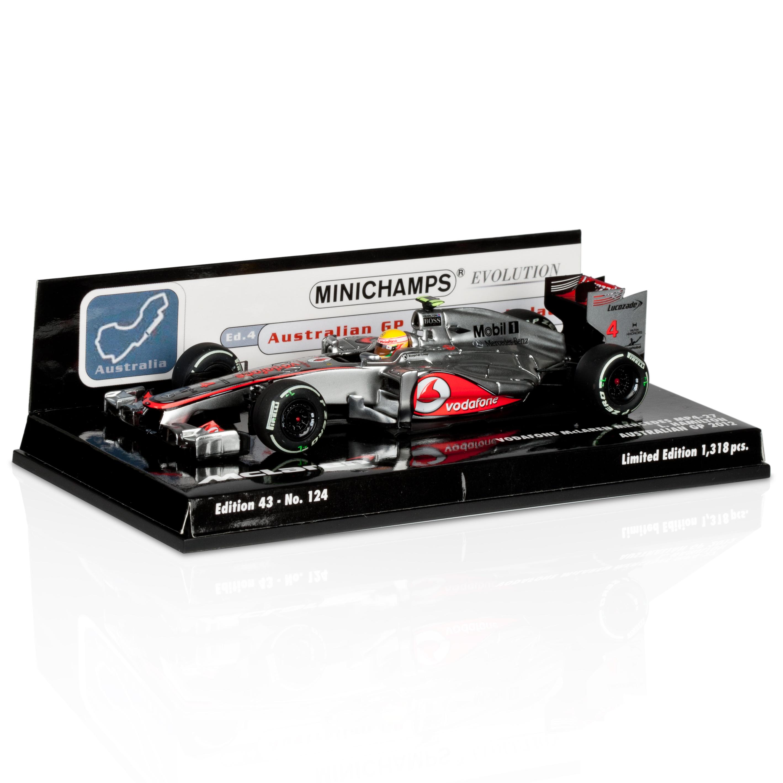 Vodafone McLaren Mercedes MP4-27 Lewis Hamilton 3rd Place Australian GP 2012 1:43 Scale