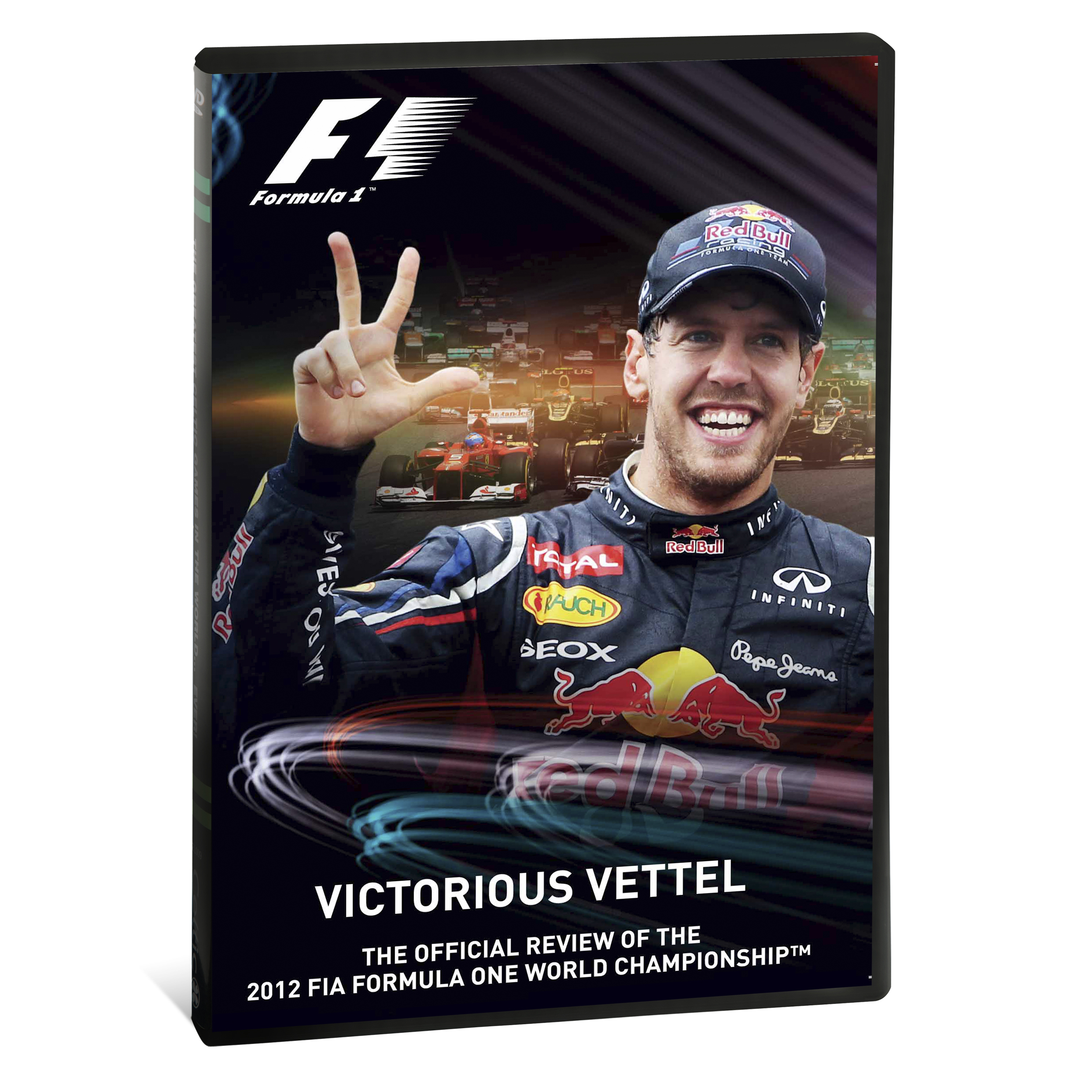 Official F1 2012 Season Review - DVD