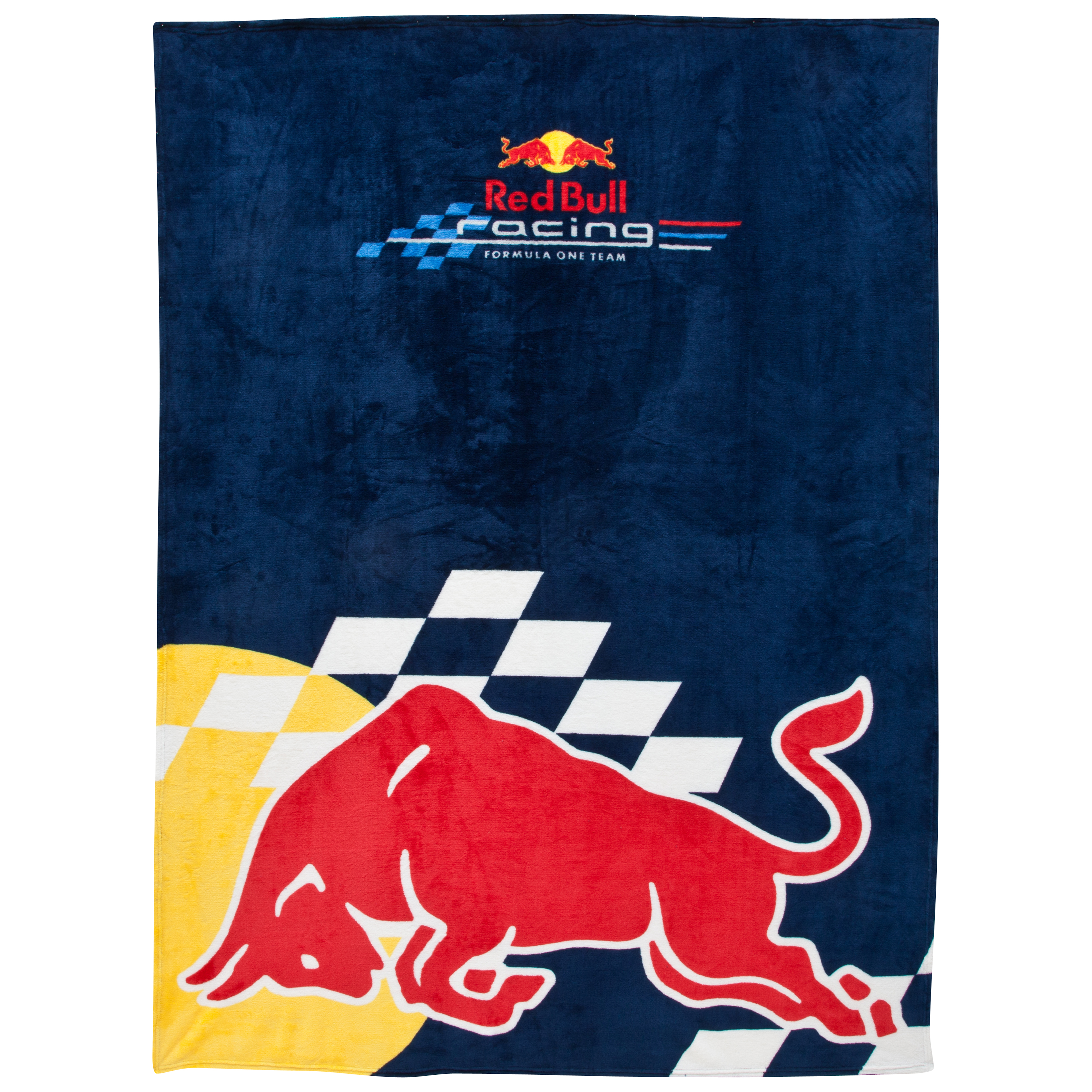 Red Bull Racing Microplush Fleece Blanket