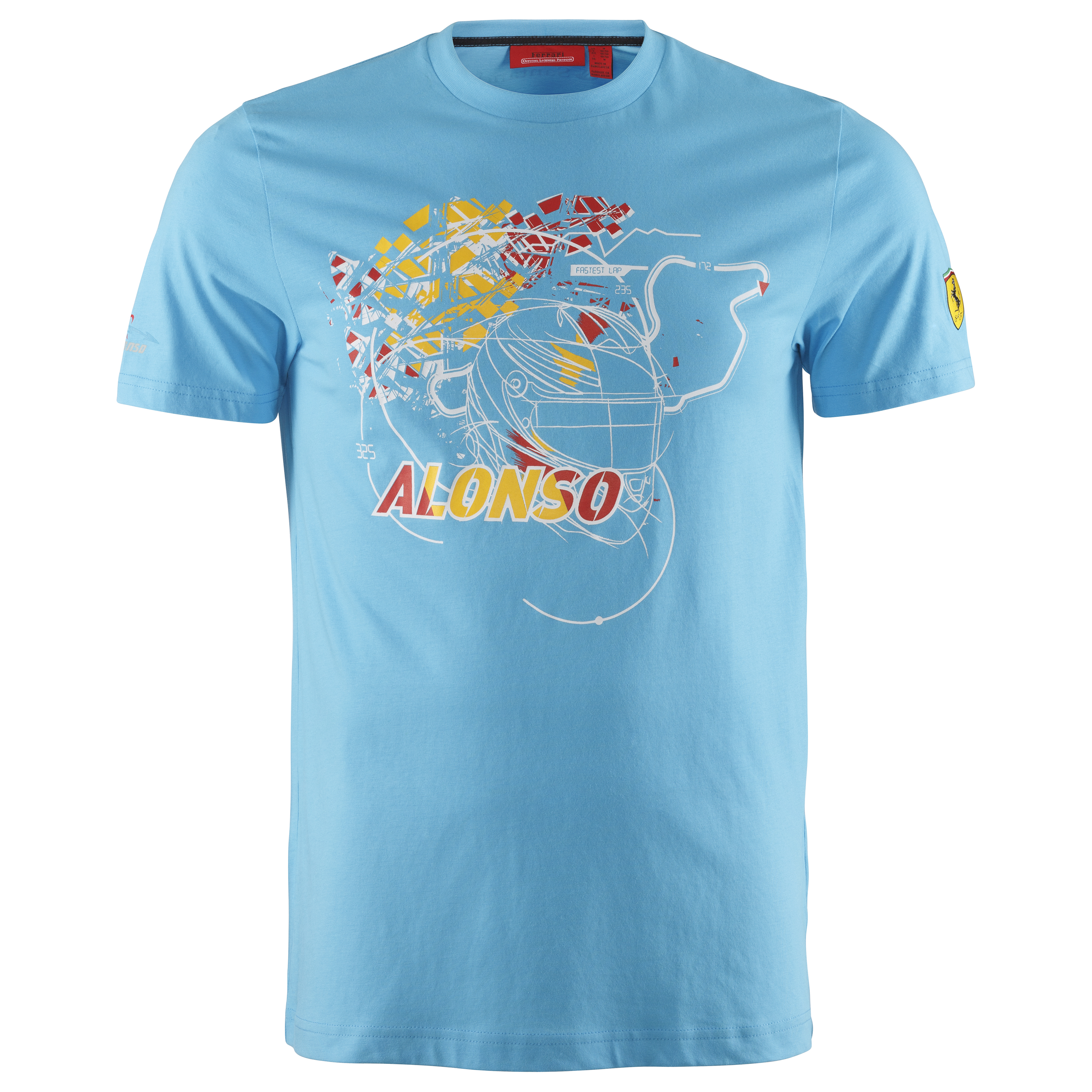 Scuderia Ferrari Alonso T-Shirt - Blue