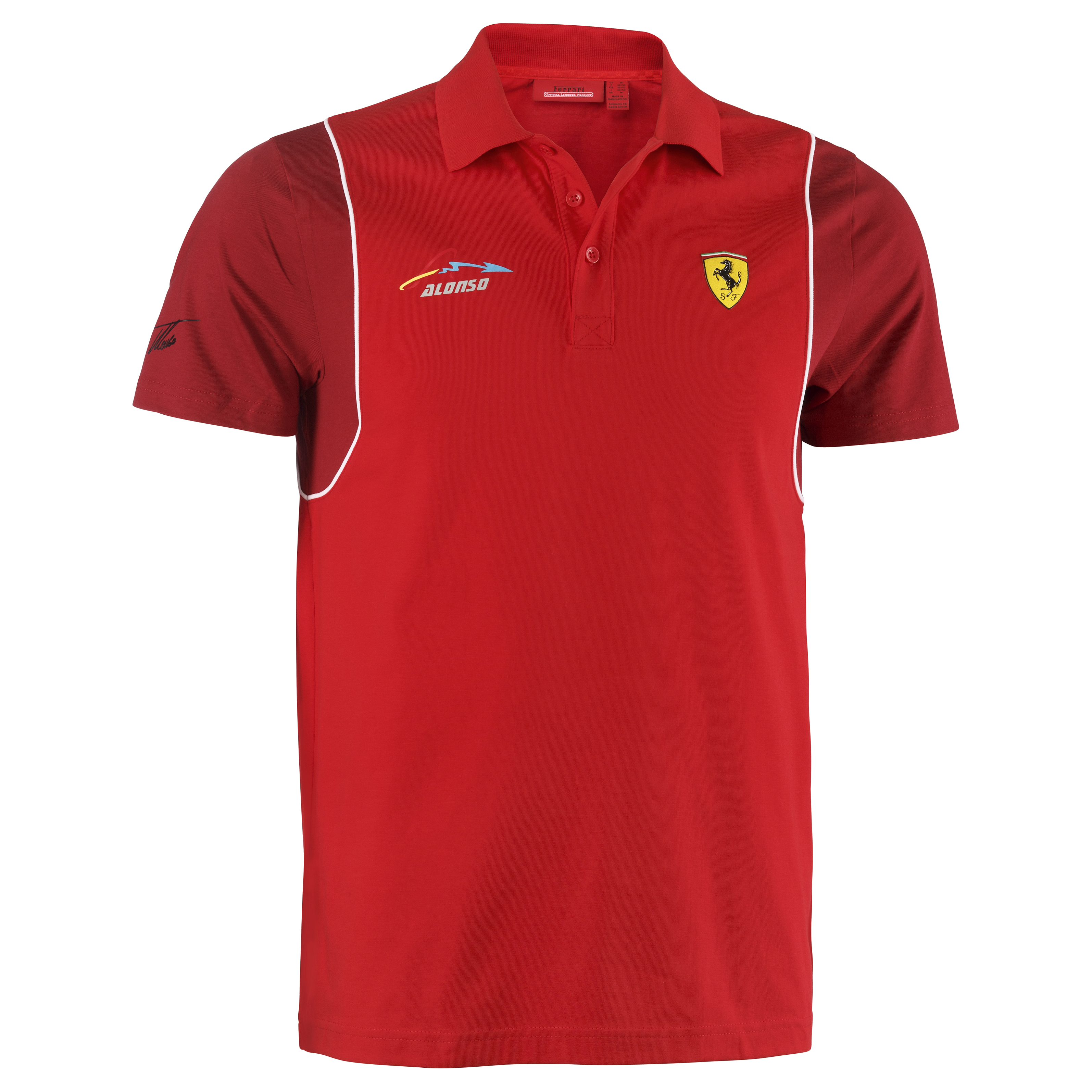 Scuderia Ferrari Alonso Polo - Red