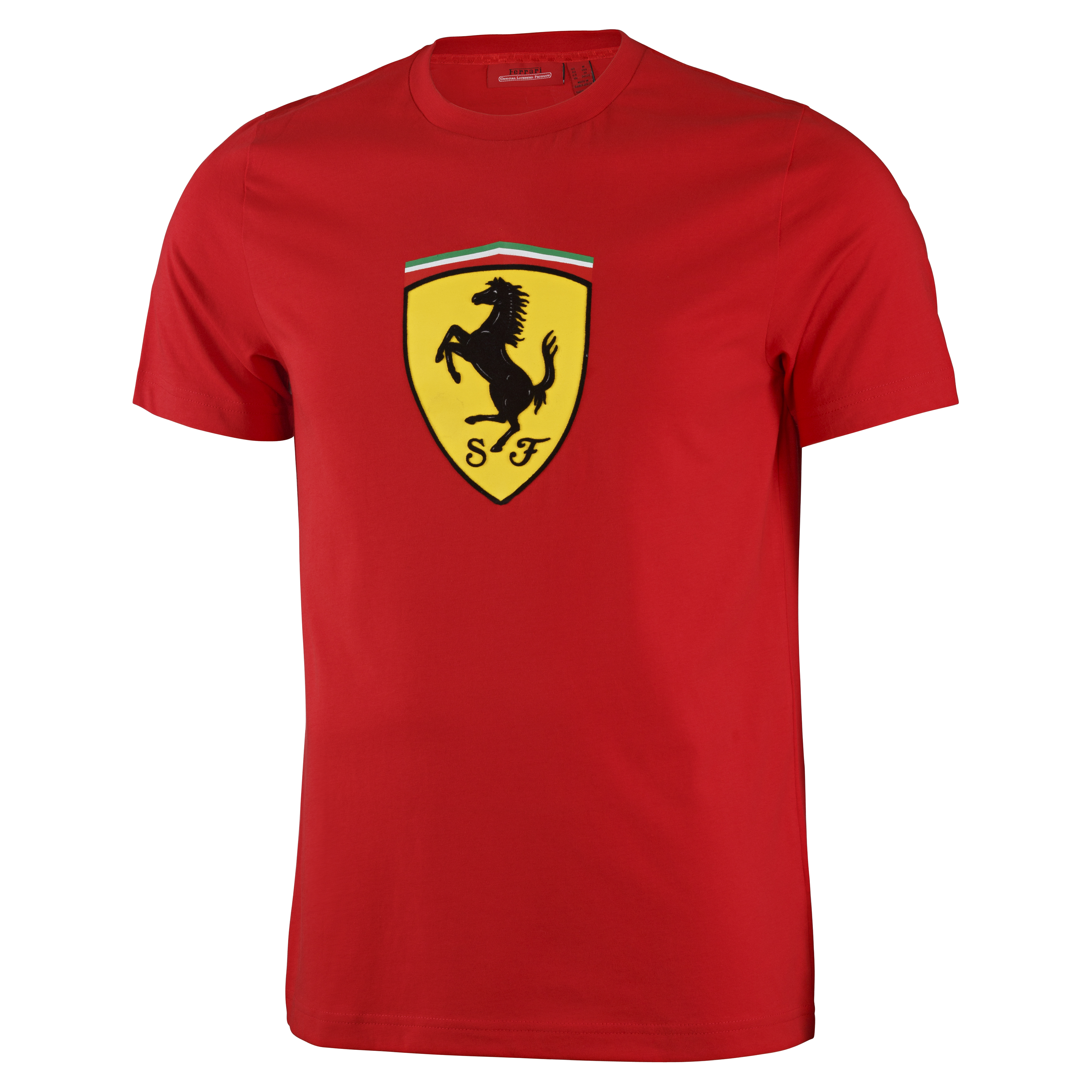 Scuderia Ferrari Classic T-Shirt - Red