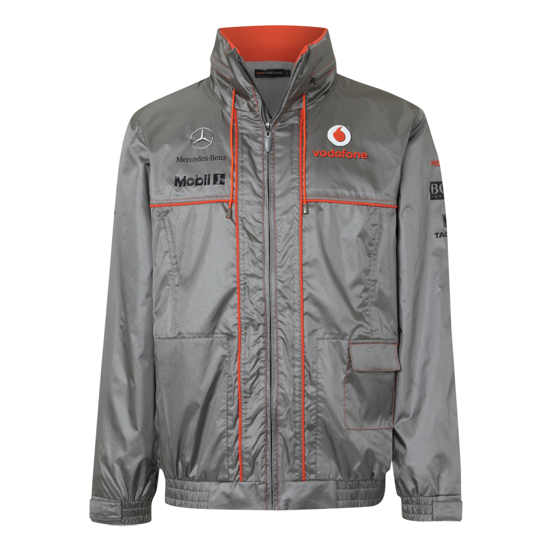 Vodafone McLaren Mercedes 2013 Team Waterproof Jacket
