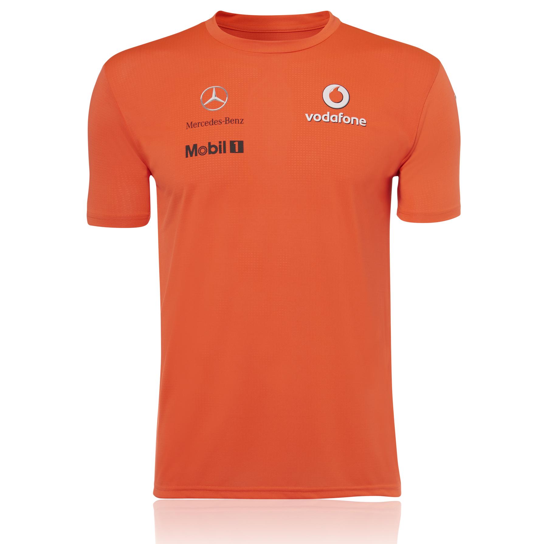 Vodafone McLaren Mercedes 2013 Team Victory T-Shirt
