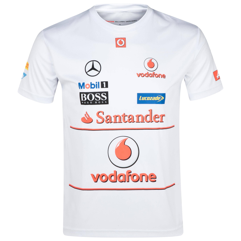 Vodafone McLaren Mercedes 2013 Sponsor T-Shirt