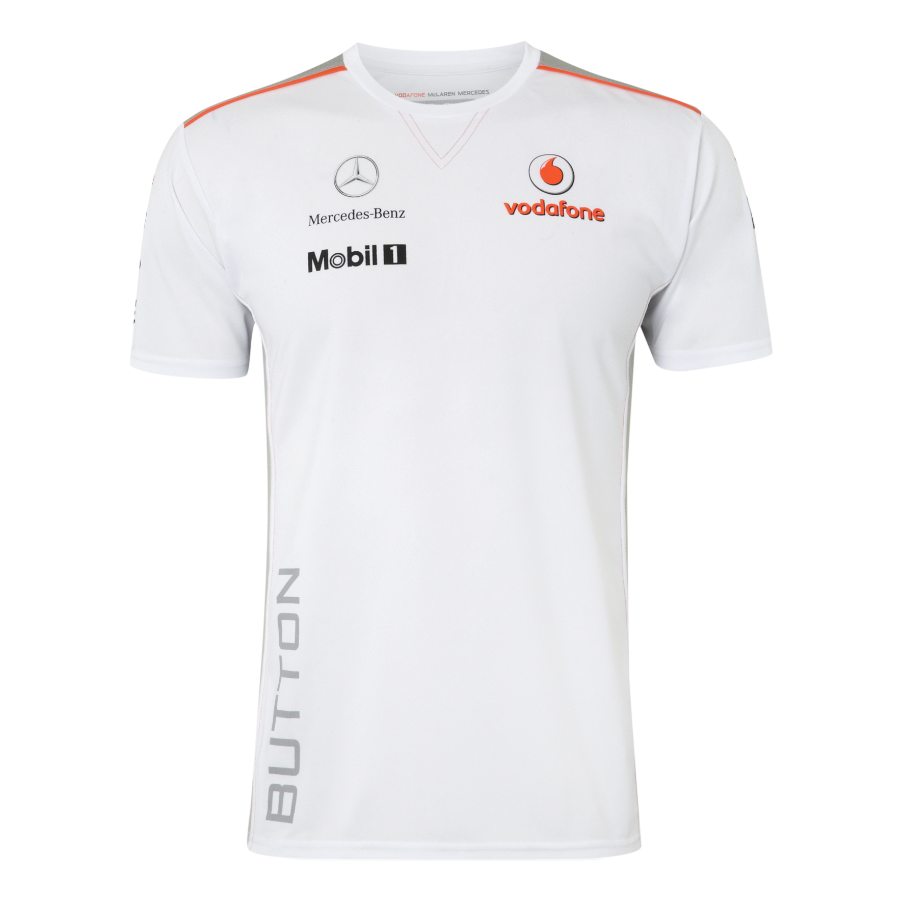 Vodafone McLaren Mercedes 2013 Button  T-Shirt