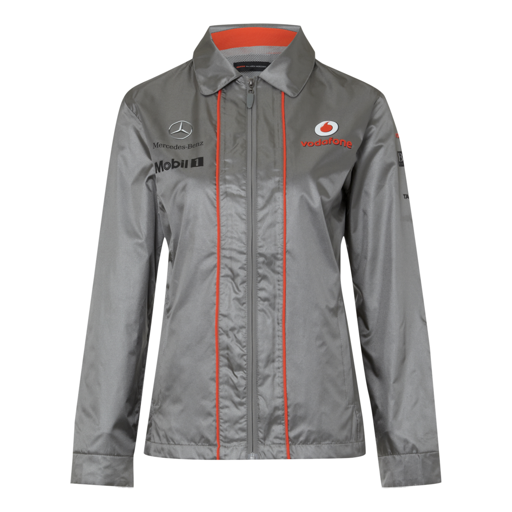 Vodafone McLaren Mercedes 2013  Team Waterproof Jacket - Womens