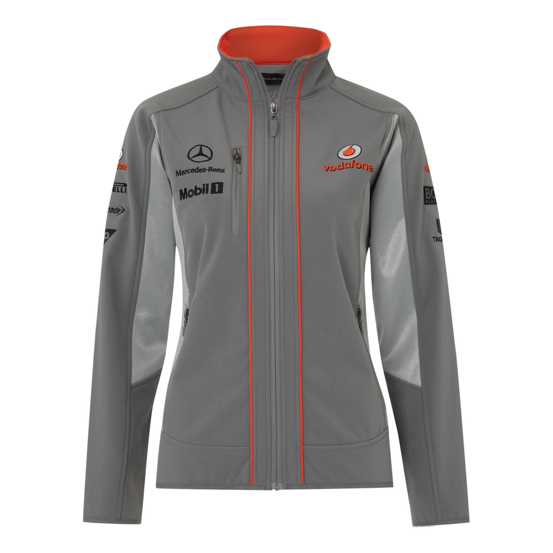 Vodafone McLaren Mercedes 2013  Team Soft Shell - Womens