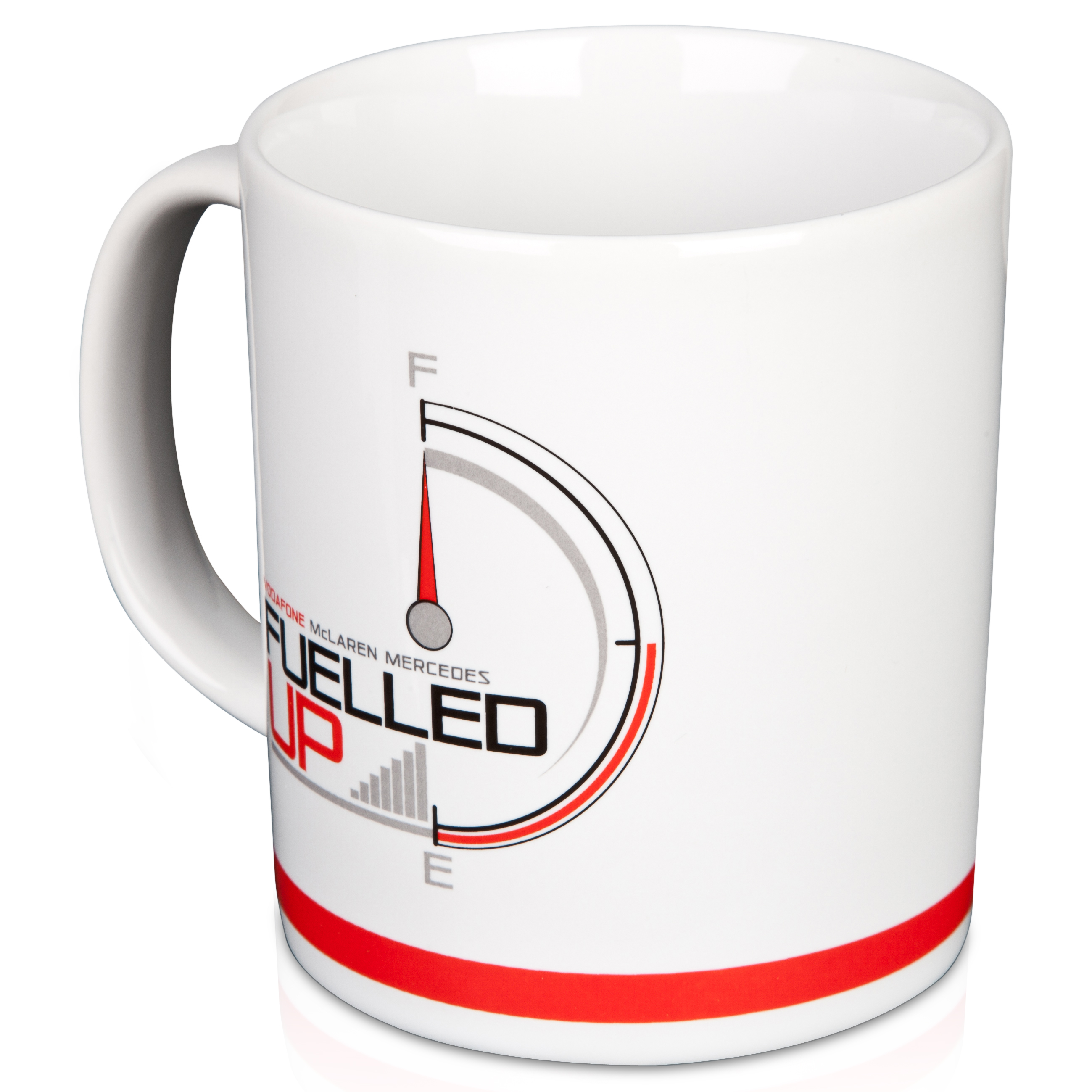 Vodafone McLaren Mercedes Fuelled Up Mug