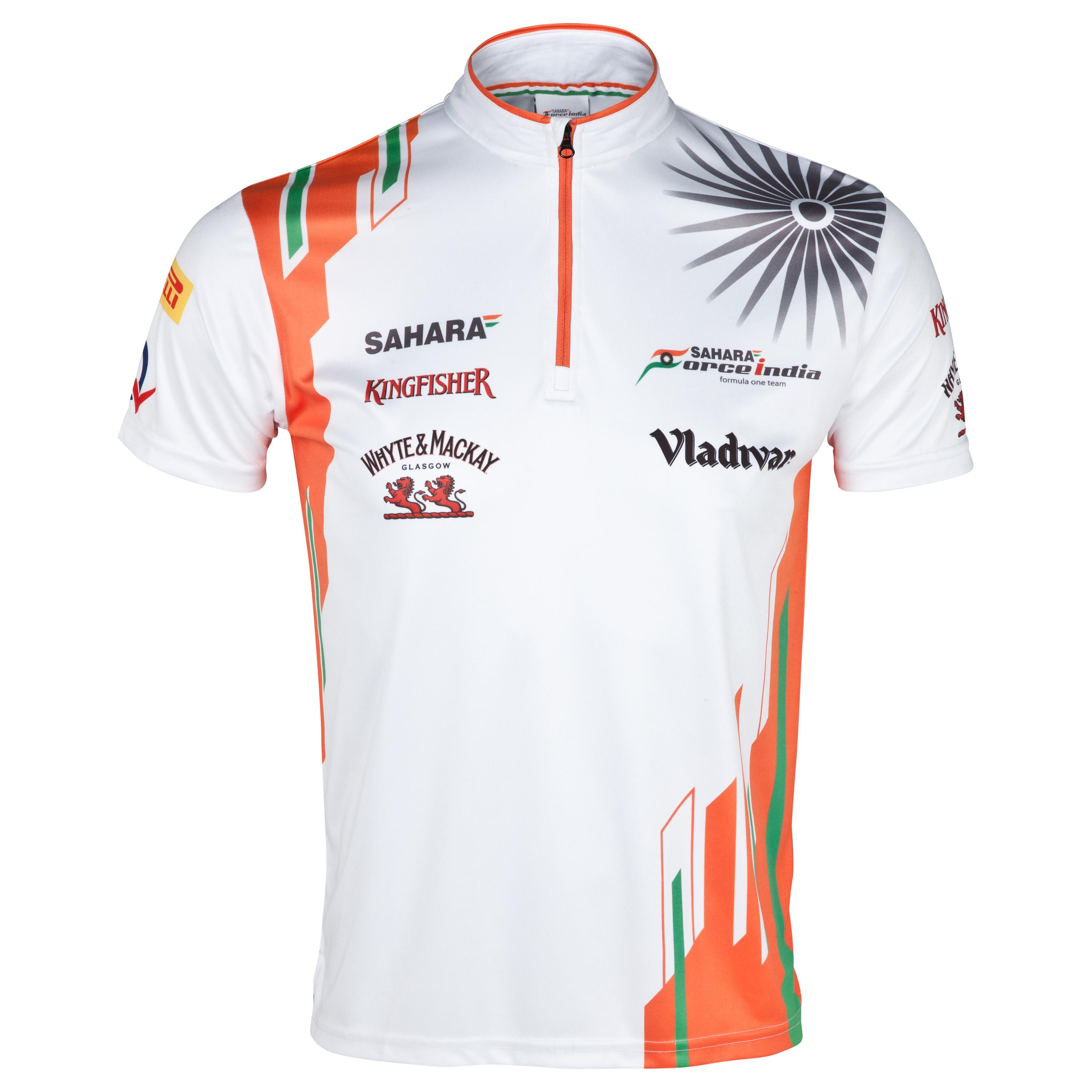 Sahara Force India Logo Zipper Jersey - Kids