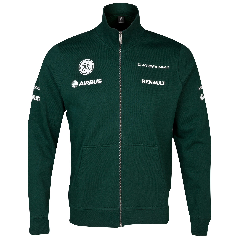 Caterham F1 Team Replica Full Zip Fleece Jacket
