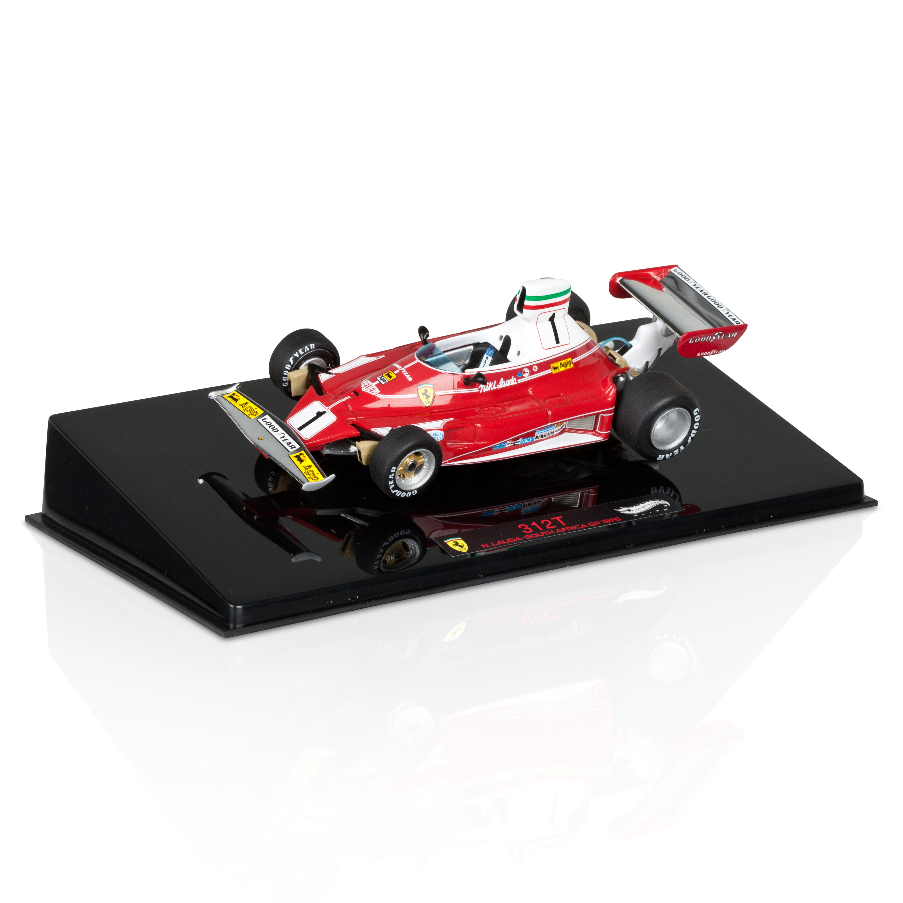 Niki Lauda Ferrari 312T South African GP 1976 1:43 Scale