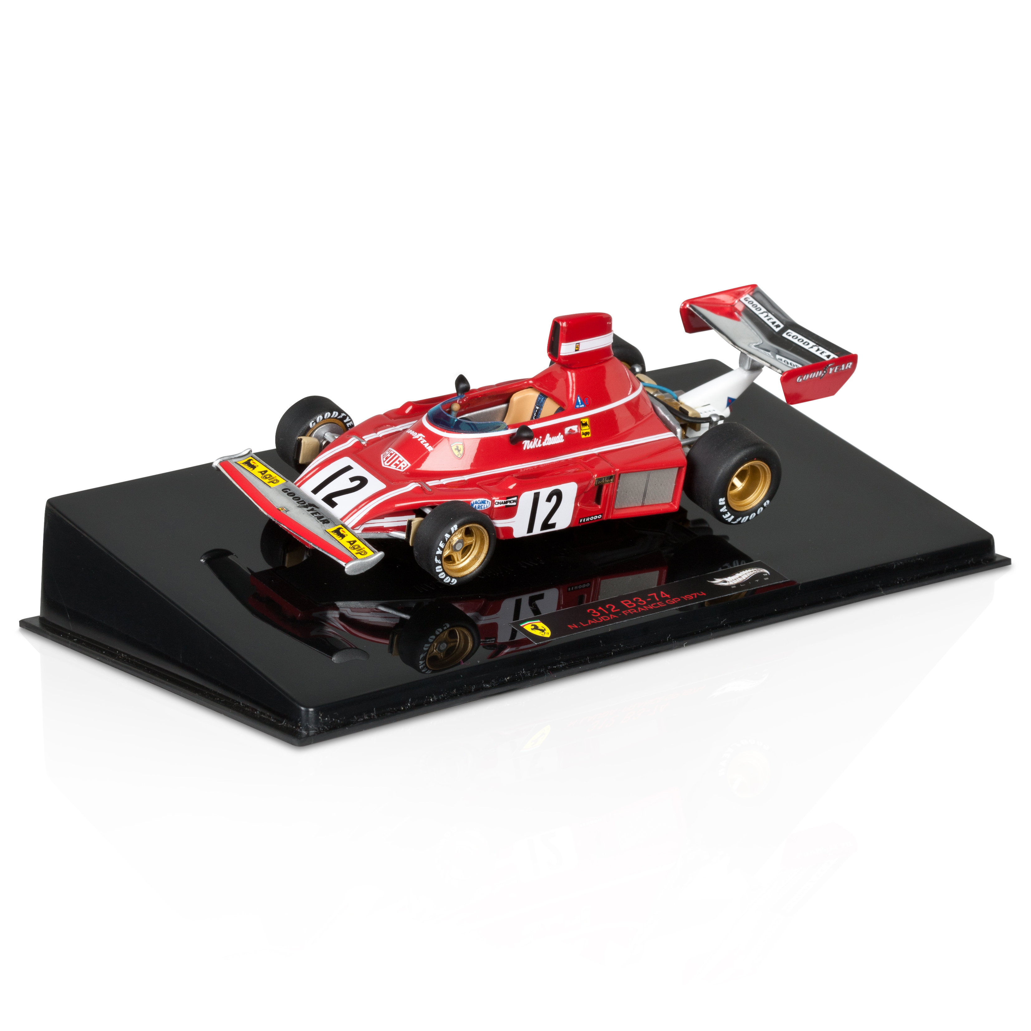 Niki Lauda Ferrari 312B3 French GP 1974 1:43 Scale