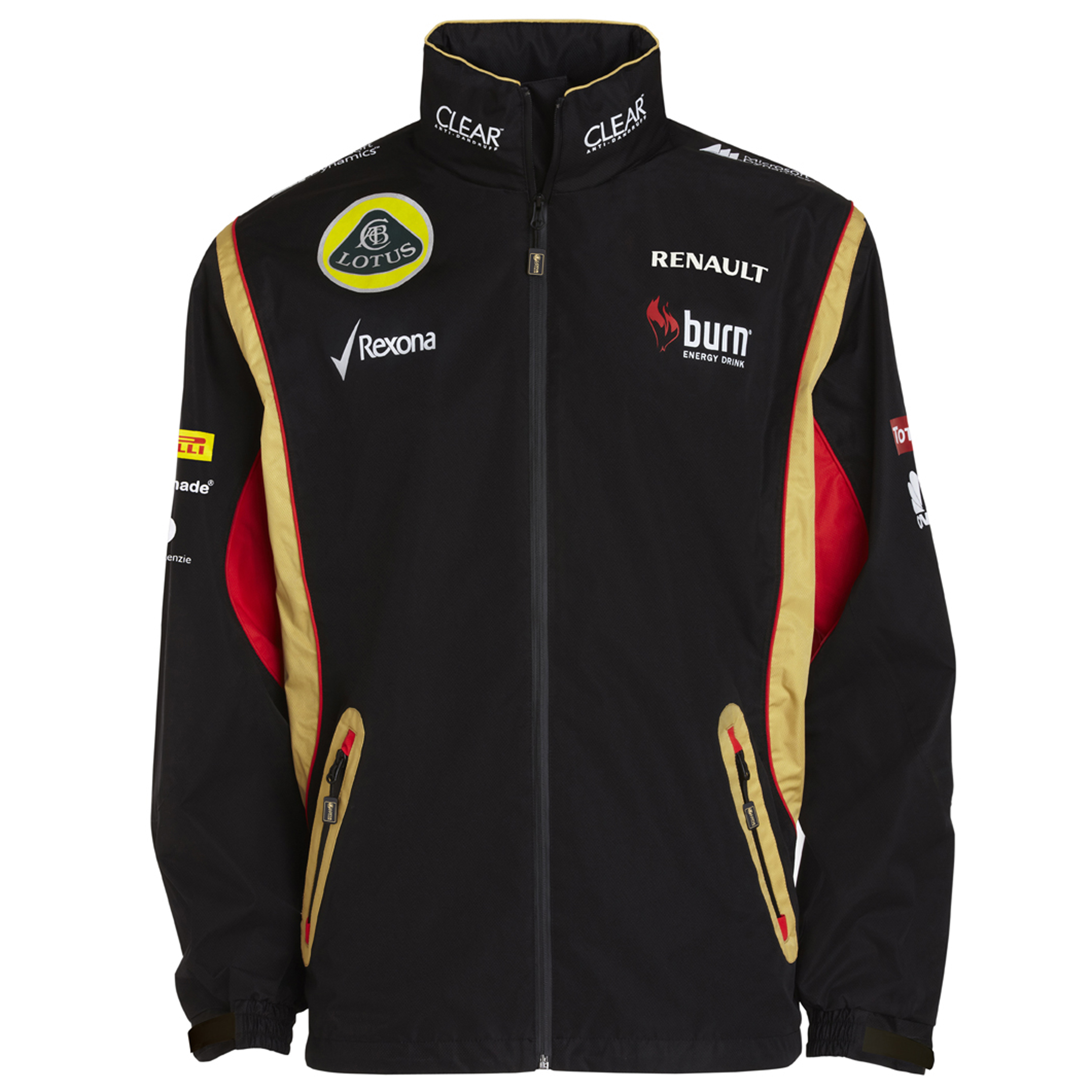 Lotus F1 Team 2013 F1 Unisex Replica Rain Jacket