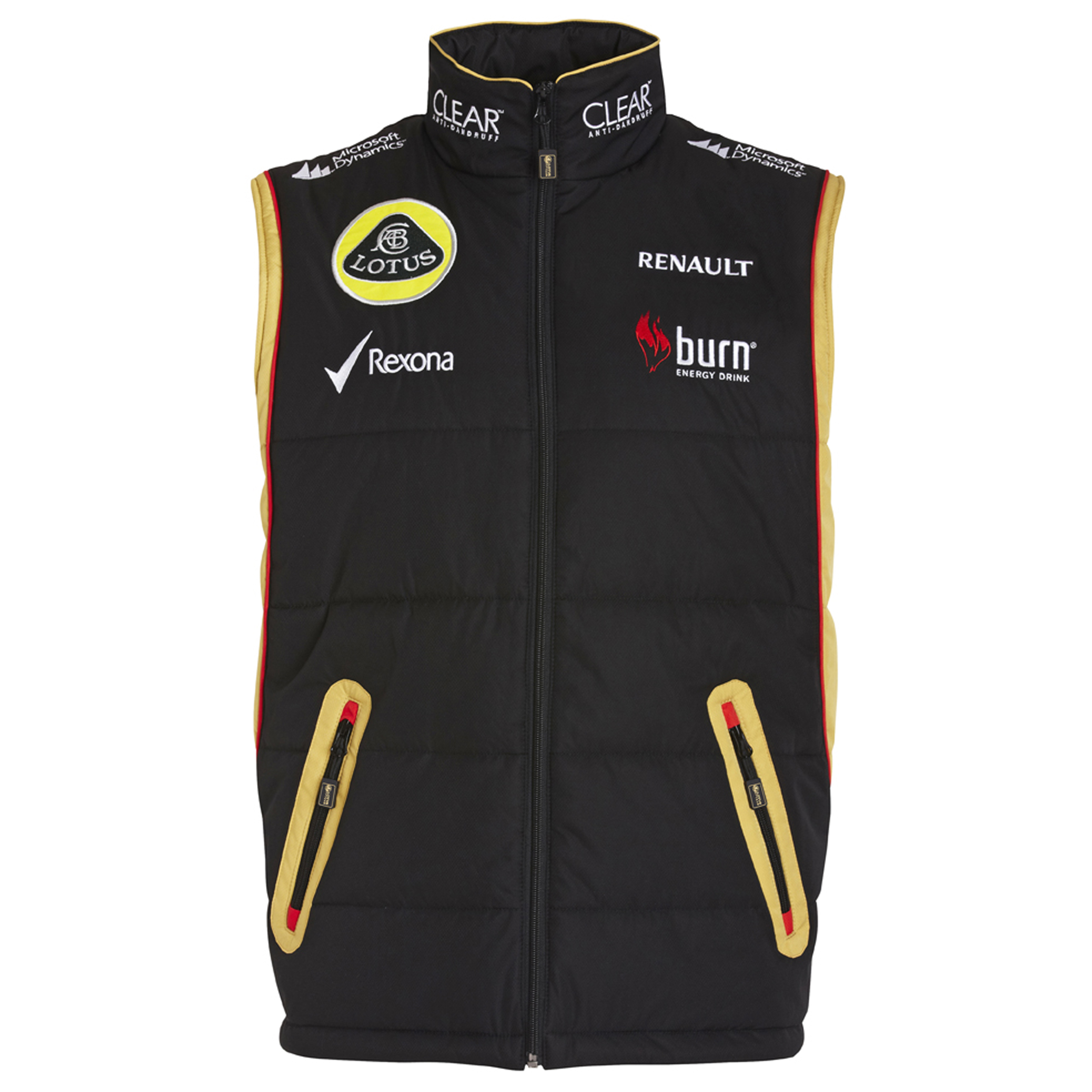 Lotus F1 Team 2013 F1 Unisex Replica Gilet