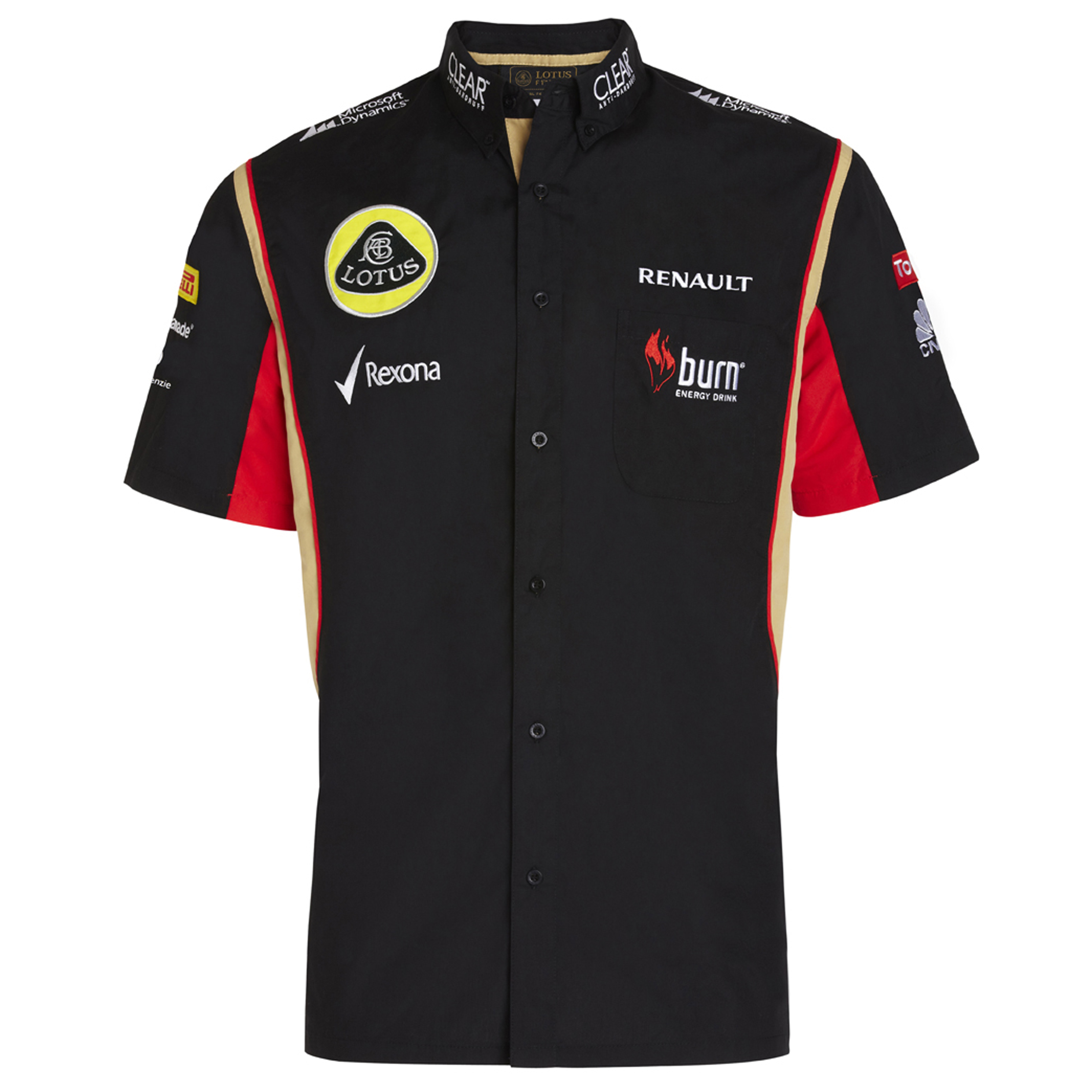 Lotus F1 Team 2013 F1 Unisex Replica Race Shirt