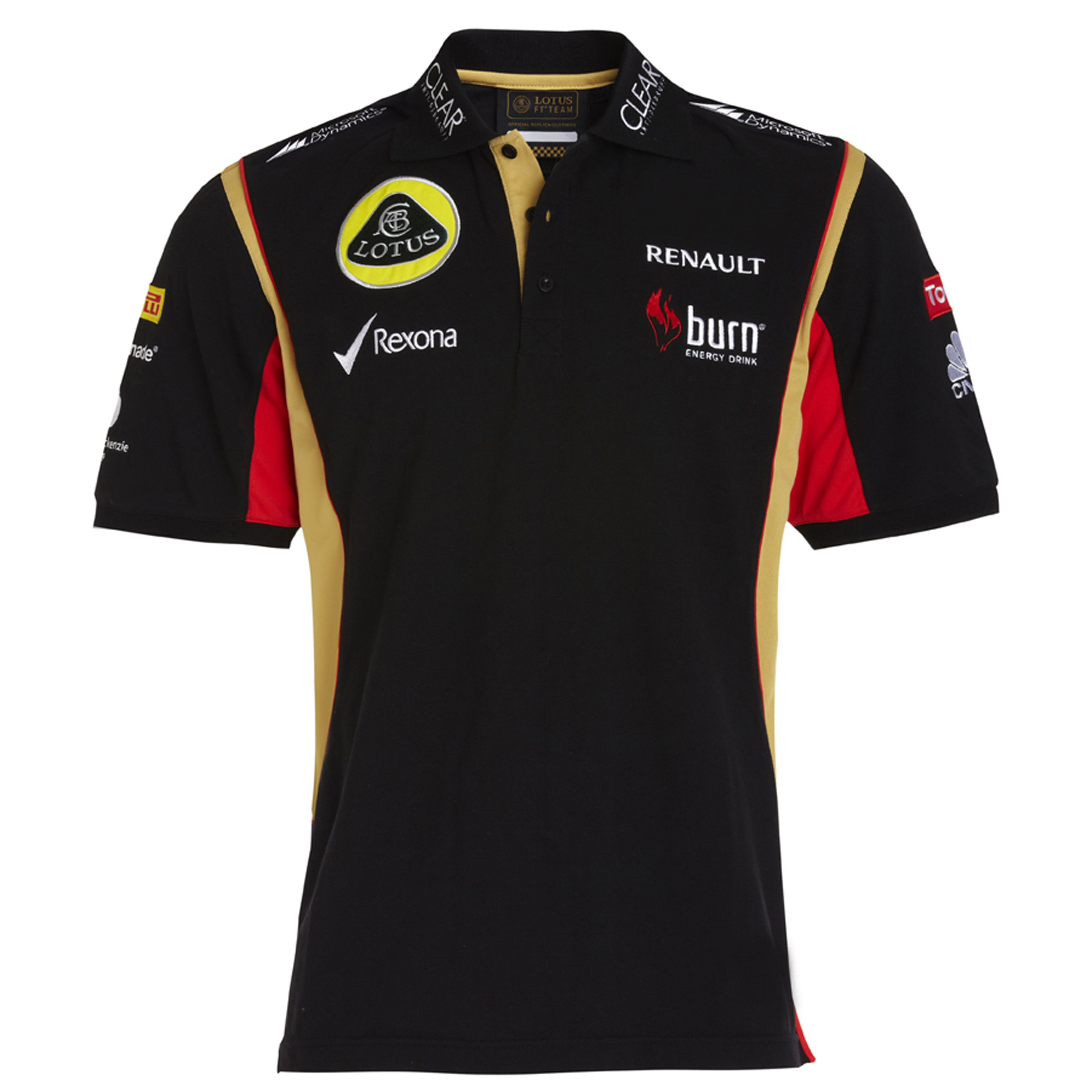 Lotus F1 Team 2013 F1 Mens Replica Polo