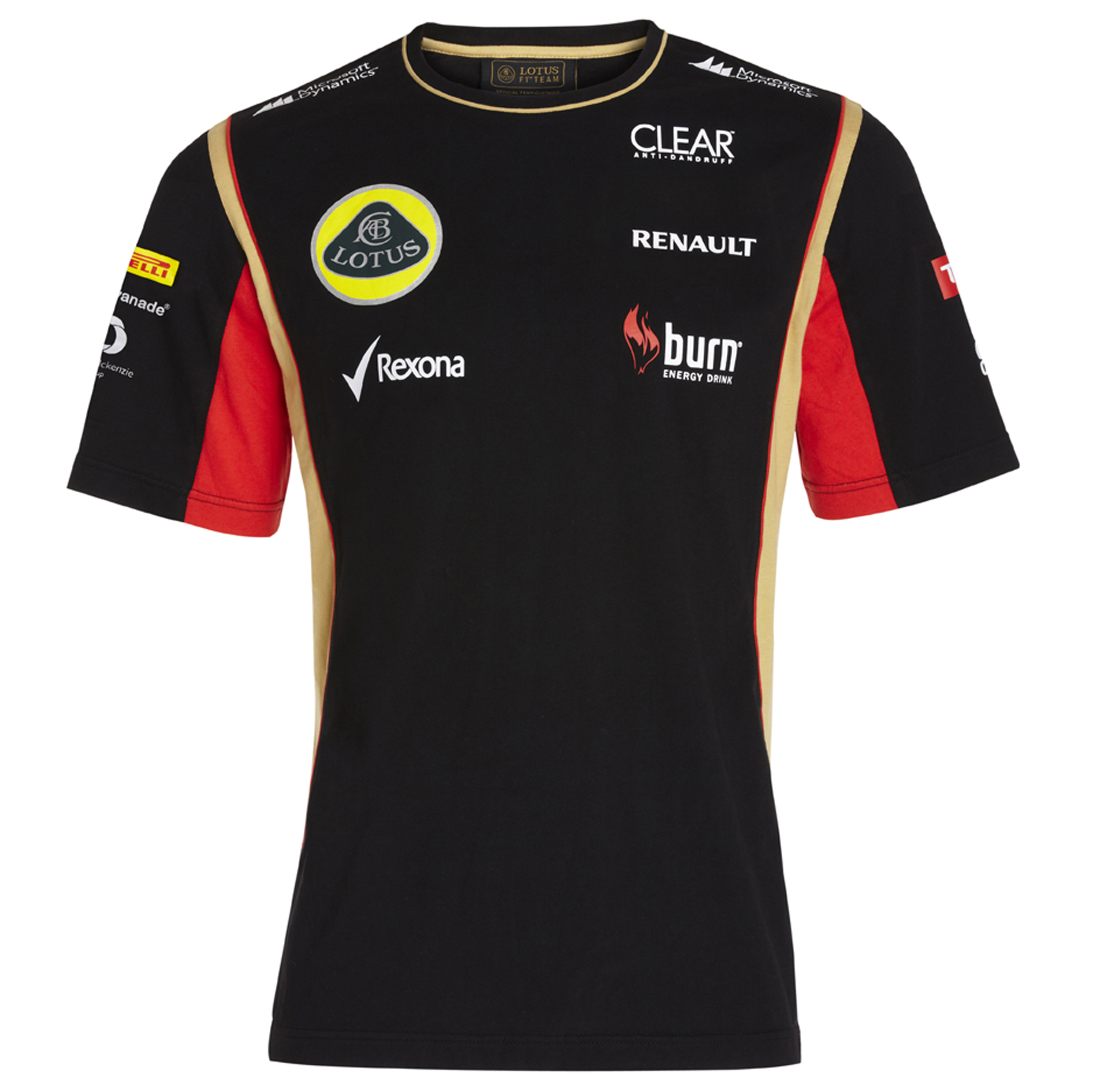 Lotus F1 Team 2013 F1 Mens Replica T-Shirt