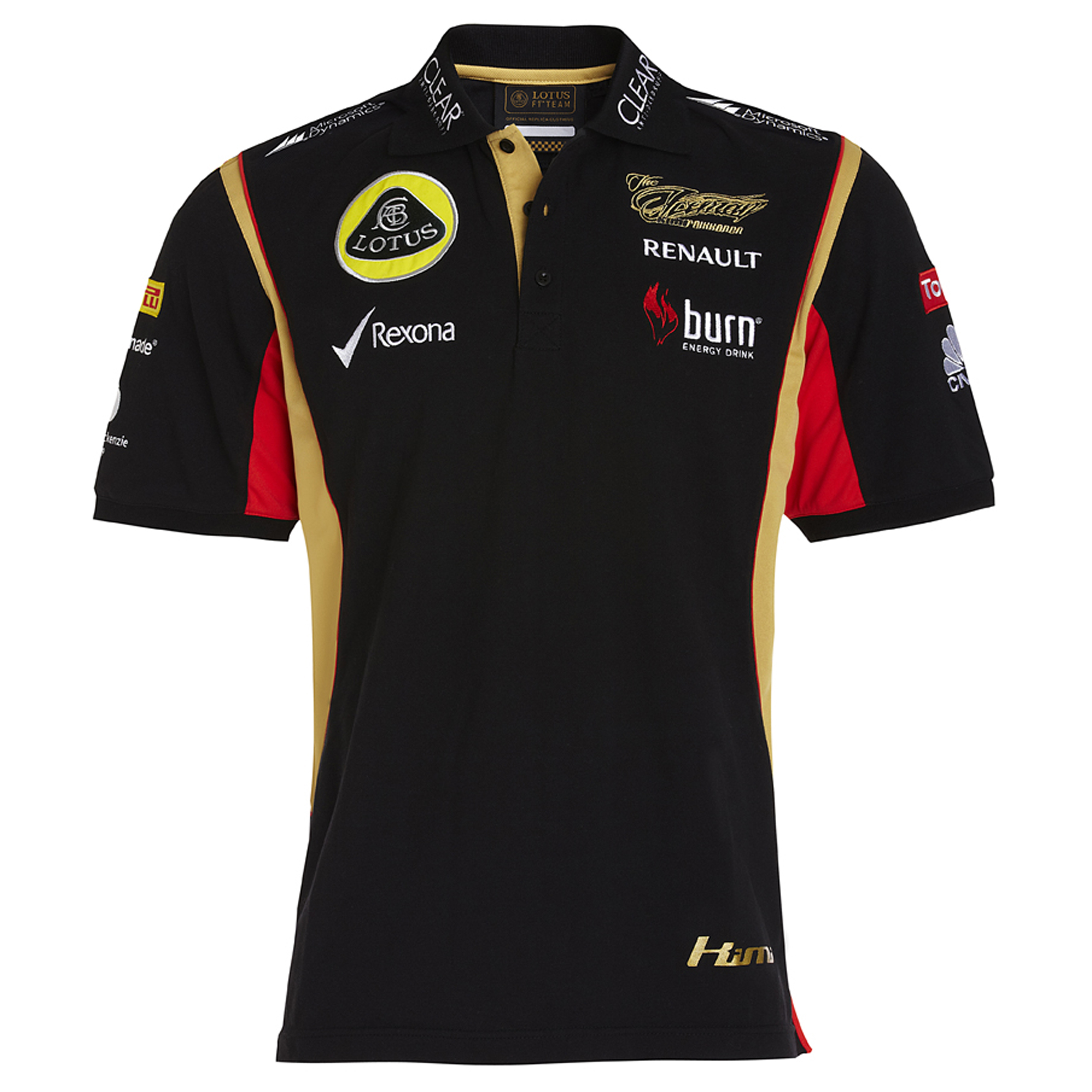 Lotus F1 Team 2013 F1 Mens Replica Kimi Polo