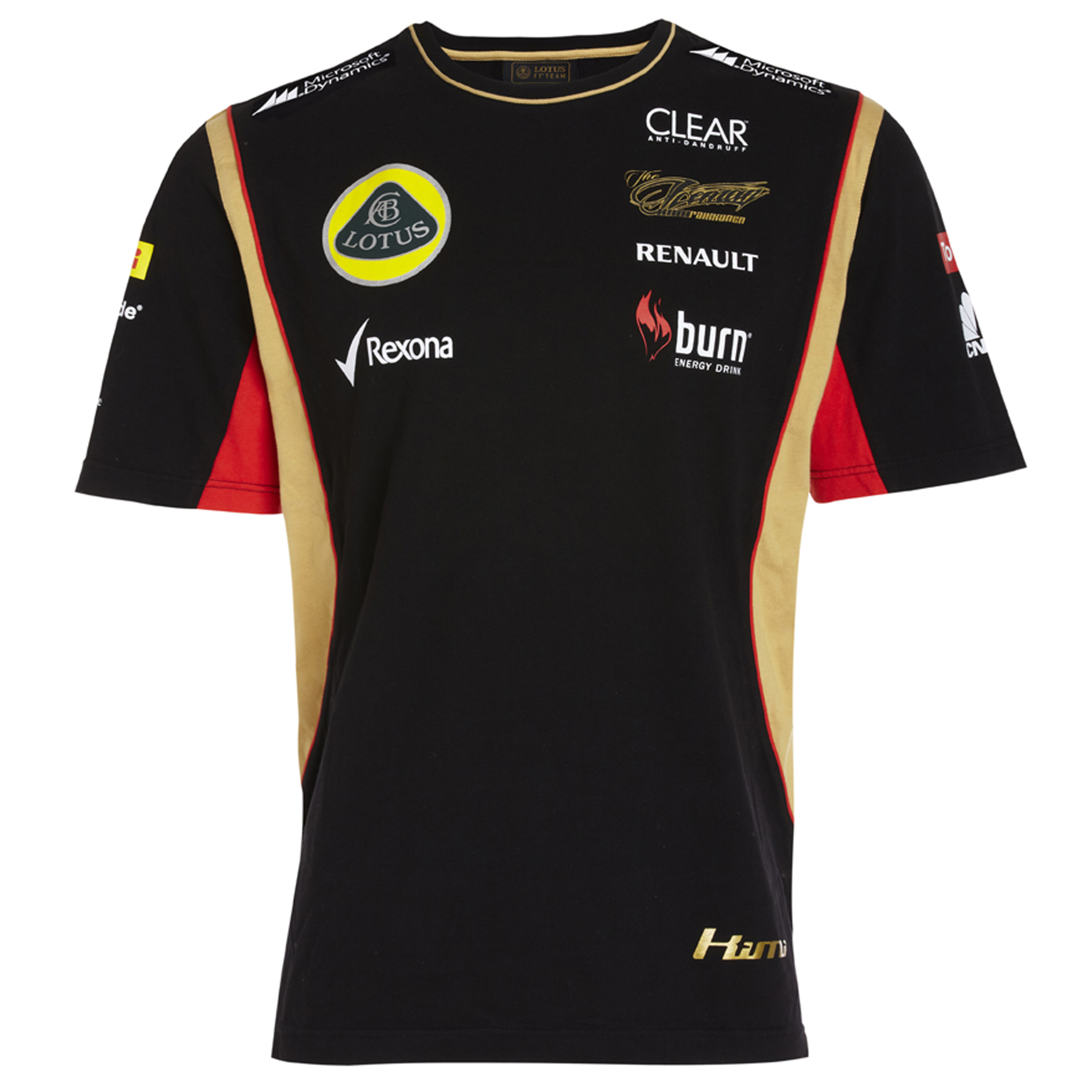 Lotus F1 Team 2013 F1 Mens Replica Kimi T-Shirt
