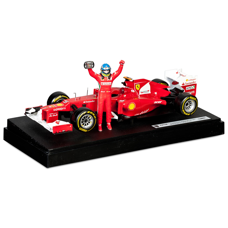 Scuderia Ferrari F2012 Fernando Alonso 2012 Malaysian GP Winner 1:18 Scale