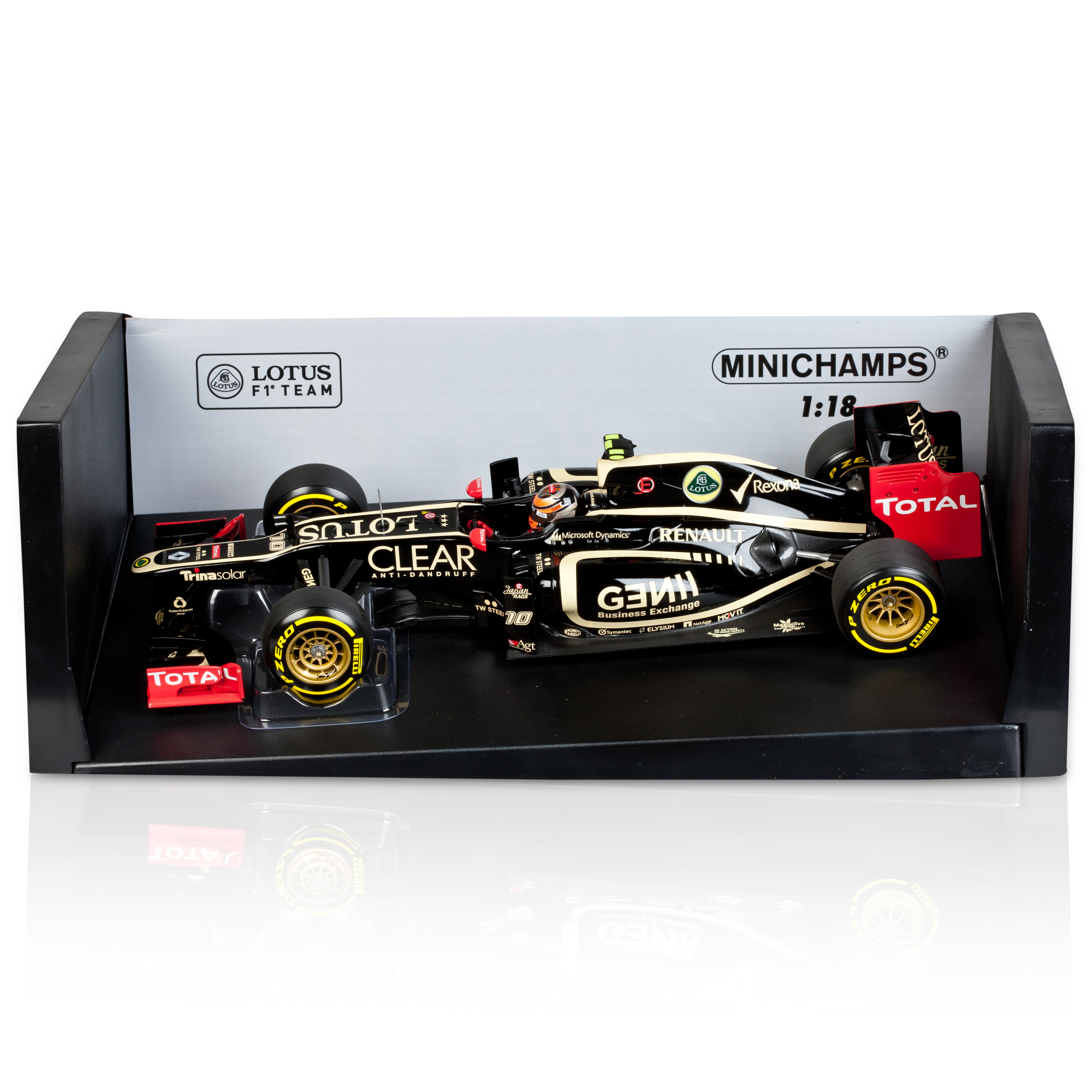 Die Cast Lotus F1 Team Renault E20 - Romain Grosjean - 2012 Model Code: 110120010