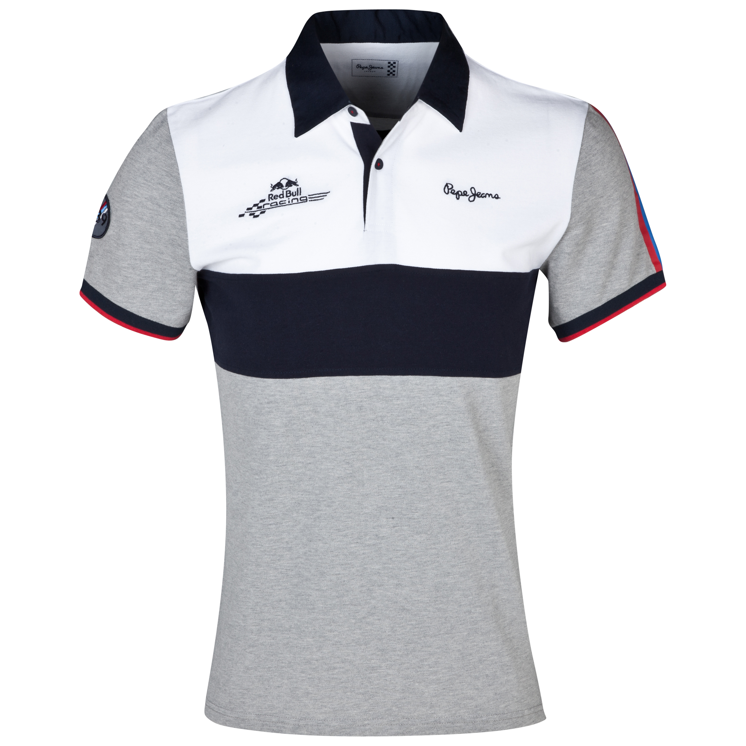 Infiniti Red Bull Racing By Pepe Jeans Tube Polo Lt Grey