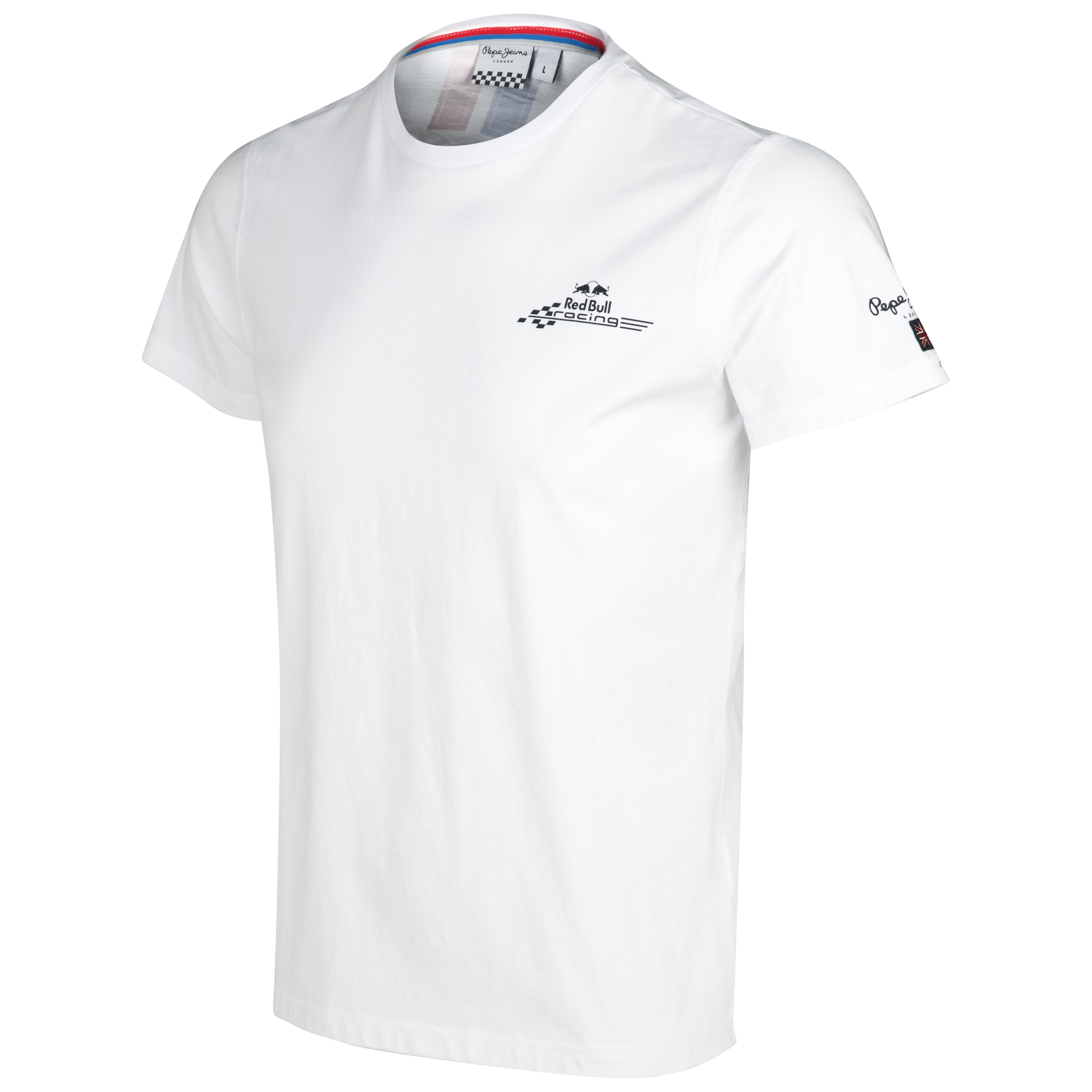 Infiniti Red Bull Racing By Pepe Jeans Gauge T-Shirt White