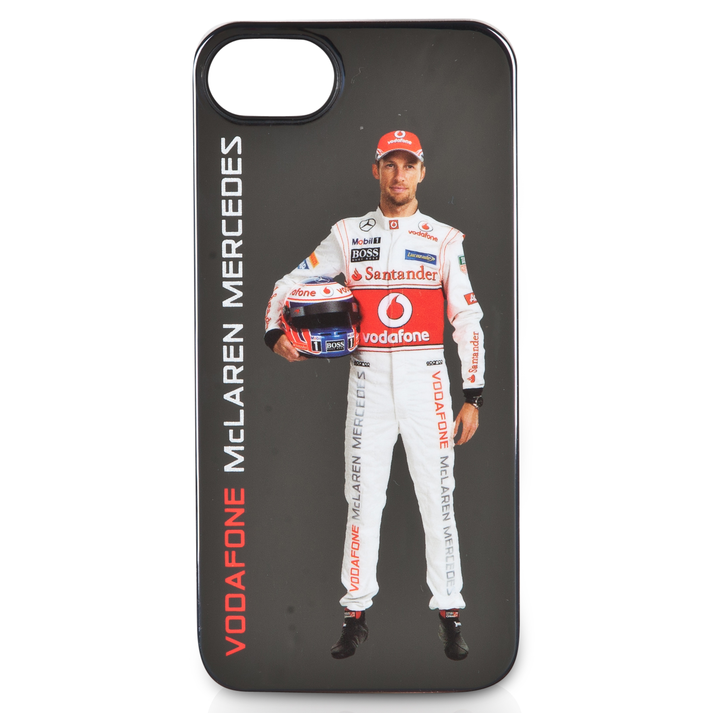 Vodafone McLaren Mercedes Premium Slim Case for iPhone 5 - Jenson Button Lt Grey