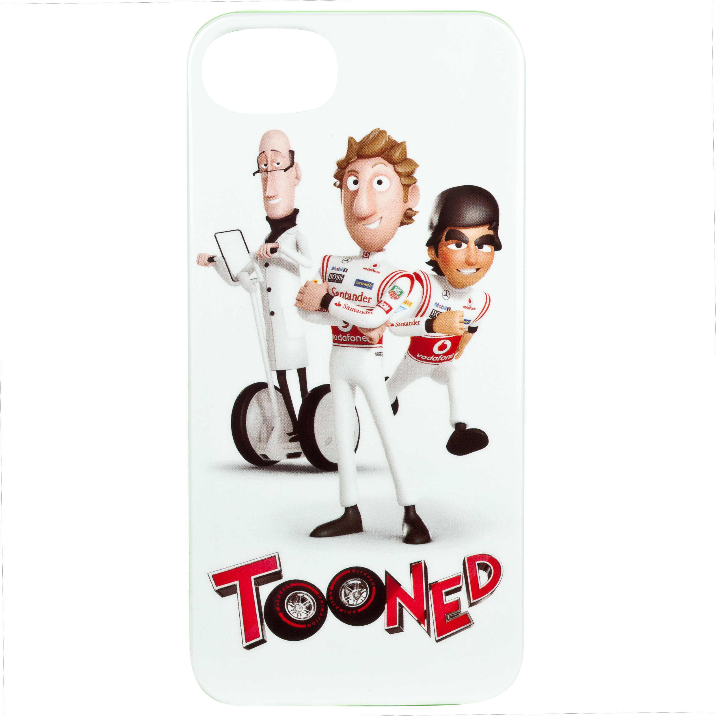 Vodafone McLaren Mercedes Tooned Slim Case for iPhone 5