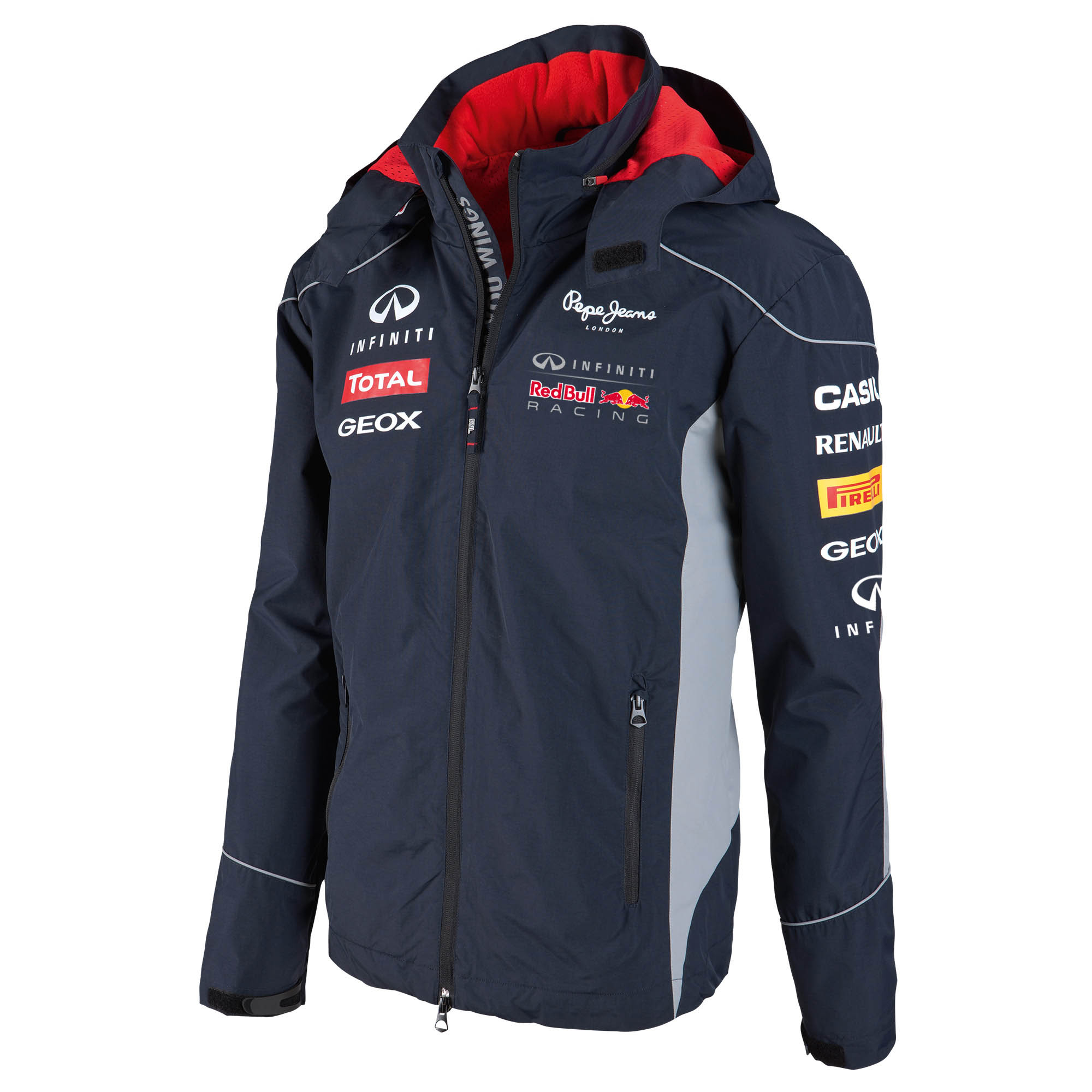 Infiniti Red Bull Racing 2013 Official Teamline Rain Jacket